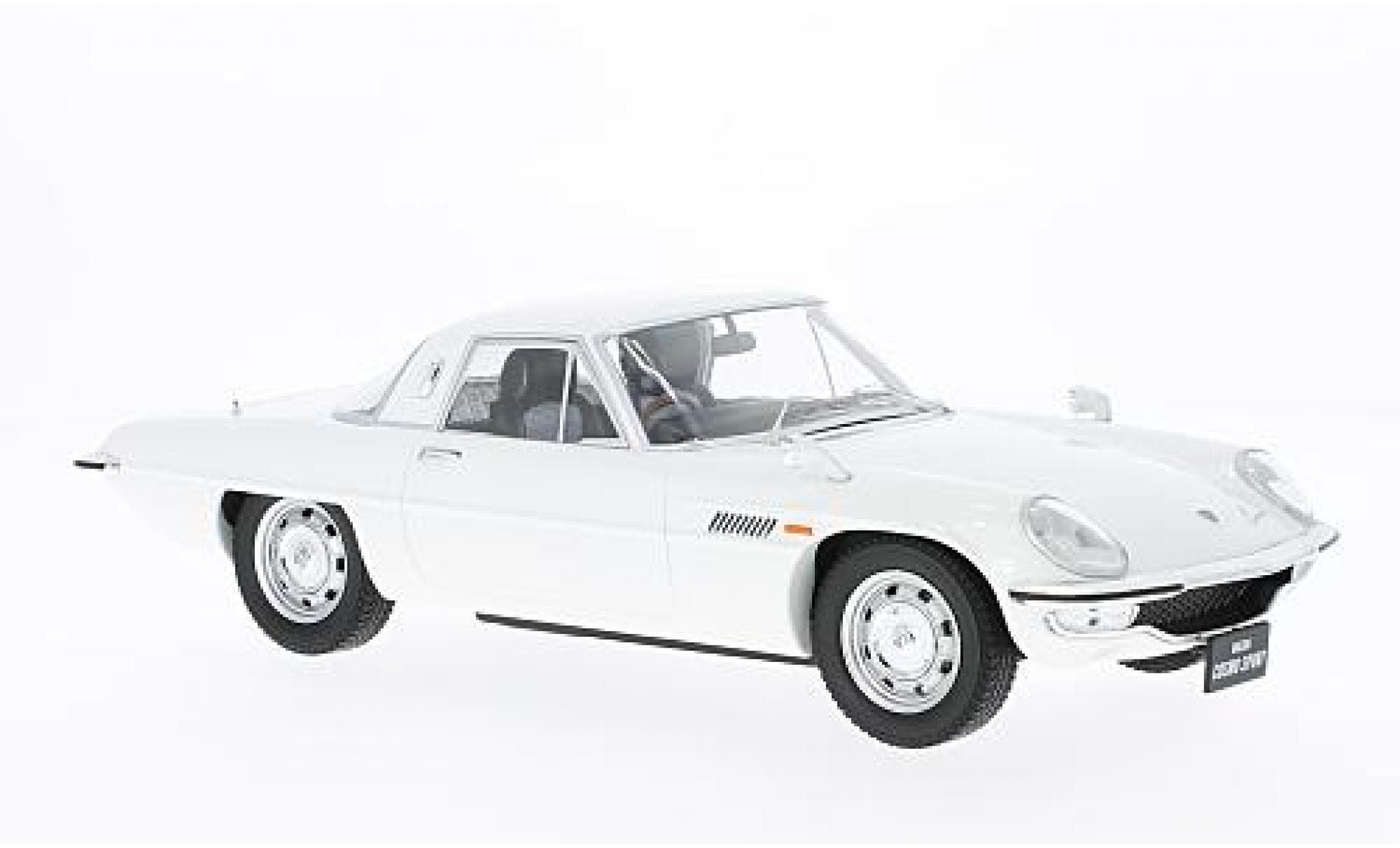 Mazda Cosmo 1/18 Triple 9 Collection Sport blanche RHD Diecast Sealed Body Series sans Vitrine
