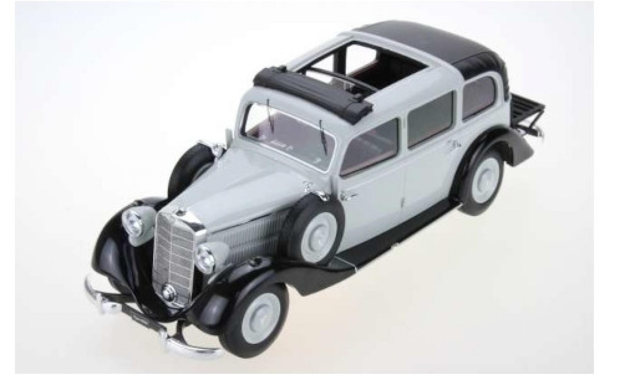 Mercedes 260 1/18 Triple 9 Collection D (W138) Pullman Landaulet grise/noire 1936 ouverts/es Dachverdeck