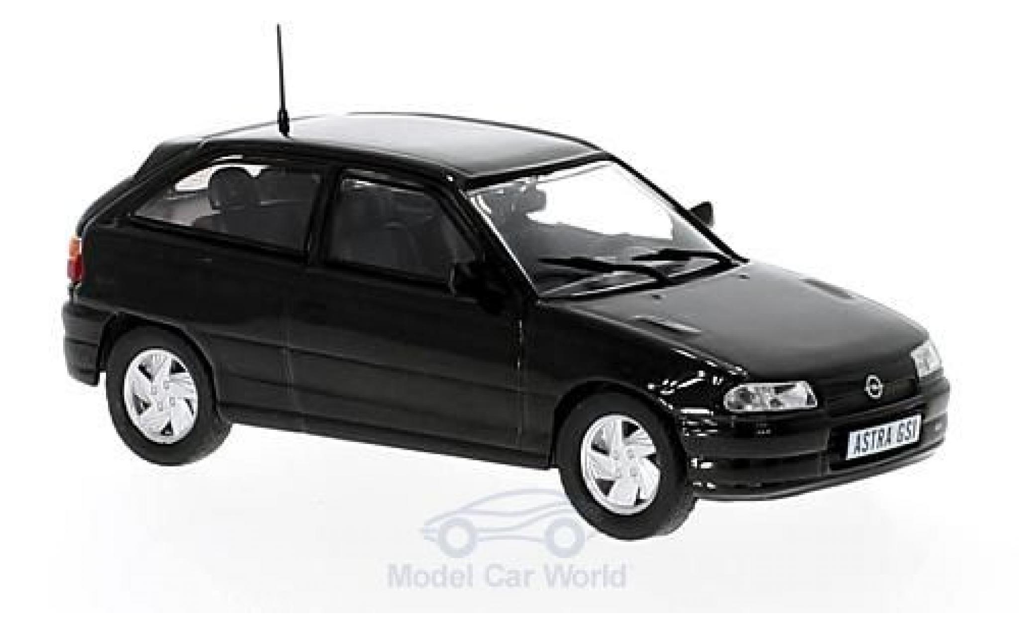 Opel Astra 1/43 Triple 9 Collection GSi metallise noire
