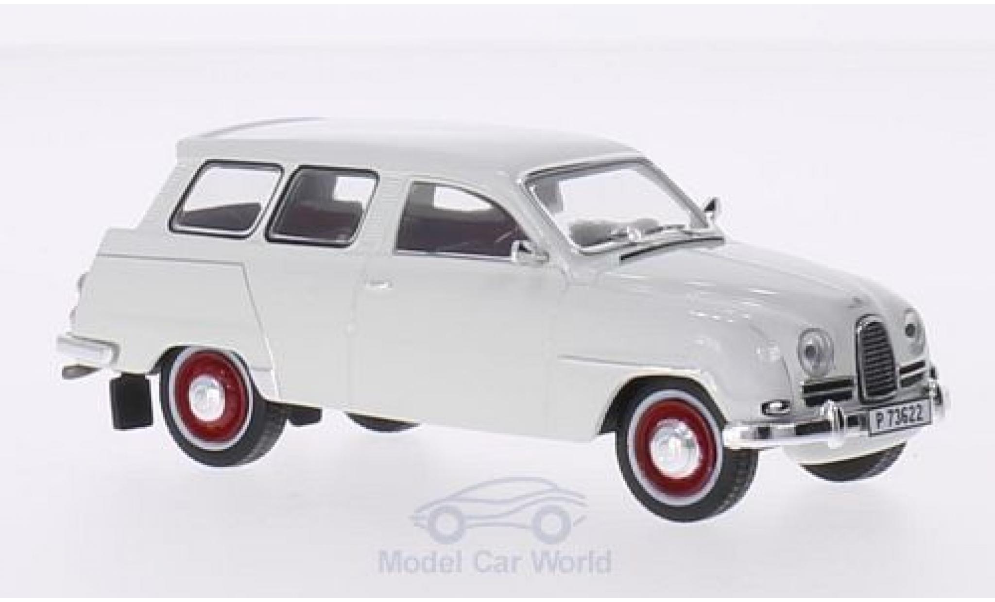 Saab 95 1/43 Triple 9 Collection blanche 1961