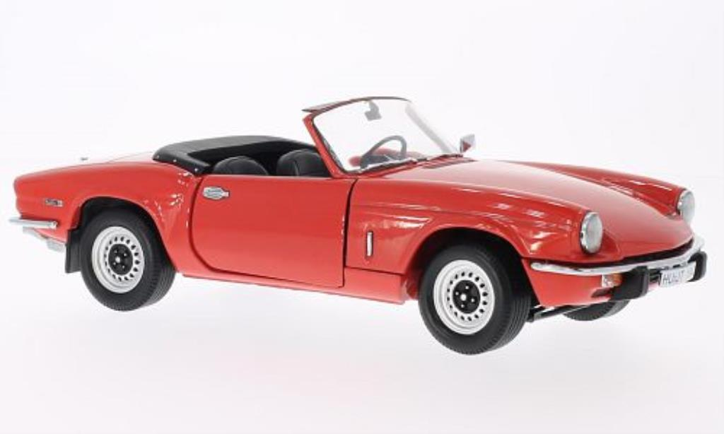 triumph spitfire mk iv rot 1970 mcw modellauto 1 18 kaufen verkauf modellauto online. Black Bedroom Furniture Sets. Home Design Ideas