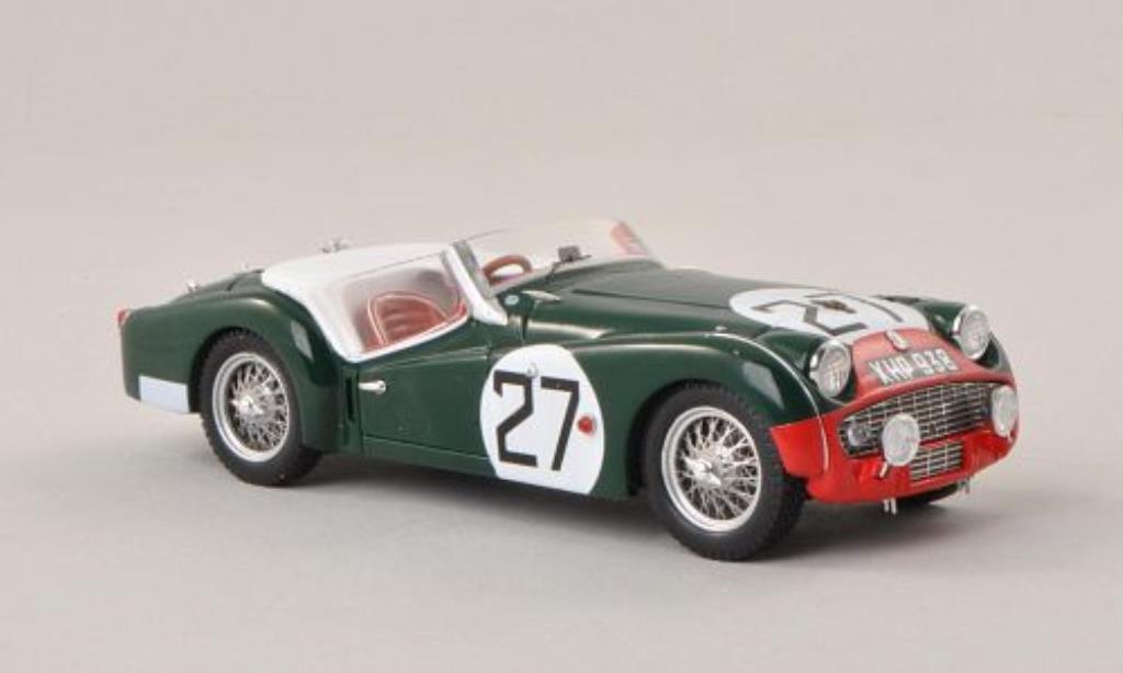 Triumph TR3 S 1/43 Spark No.27 24h Le Mans 1959 /C.Dubois modellautos