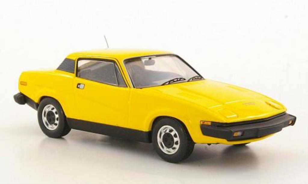 Triumph TR7 1/43 Trofeu Coupe jaune LHD miniature