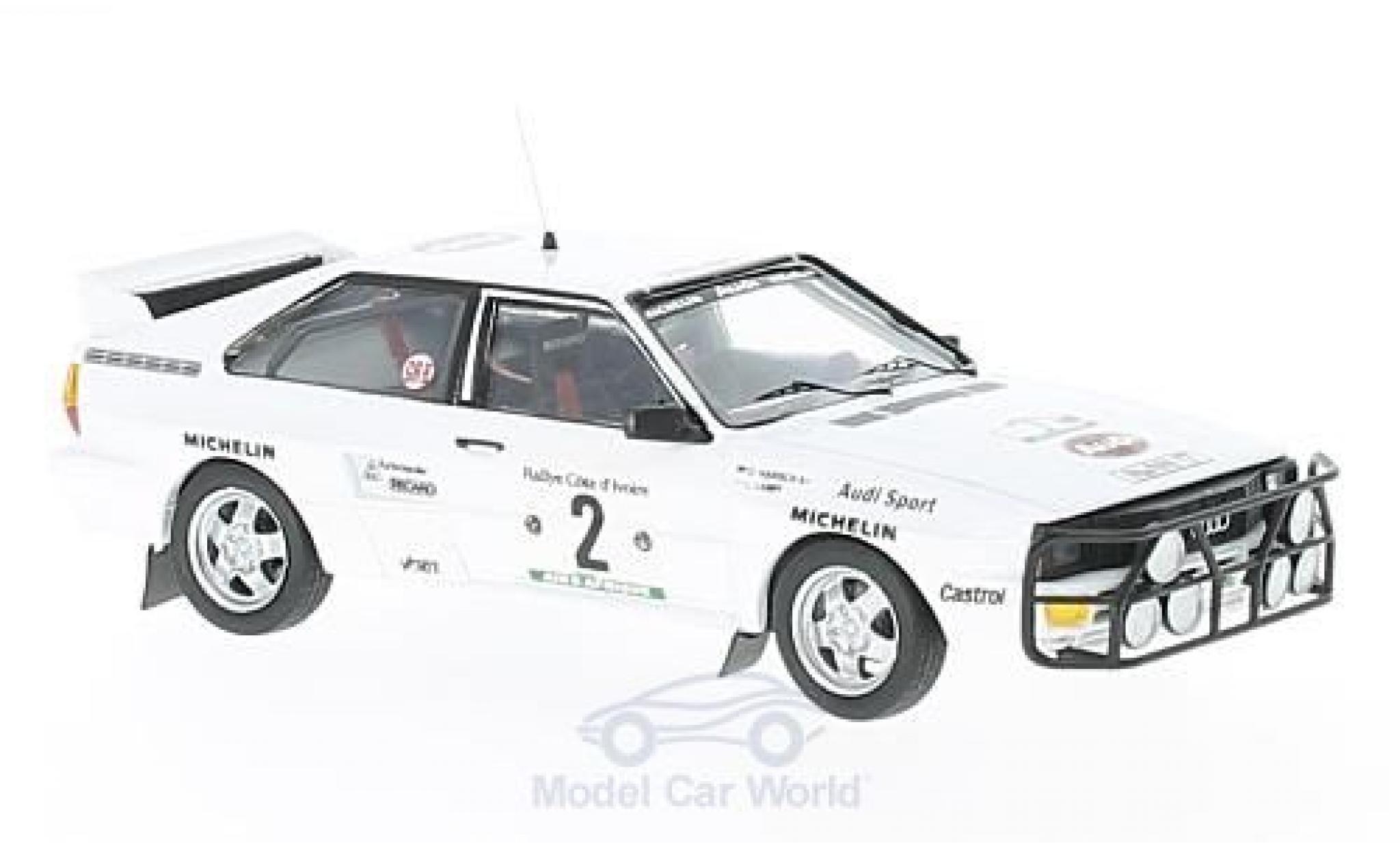 Audi Quattro 1/43 Trofeu quattro No.2 Rallye WM Rallye Bandama 1983 L.Lampi/O.Harsch