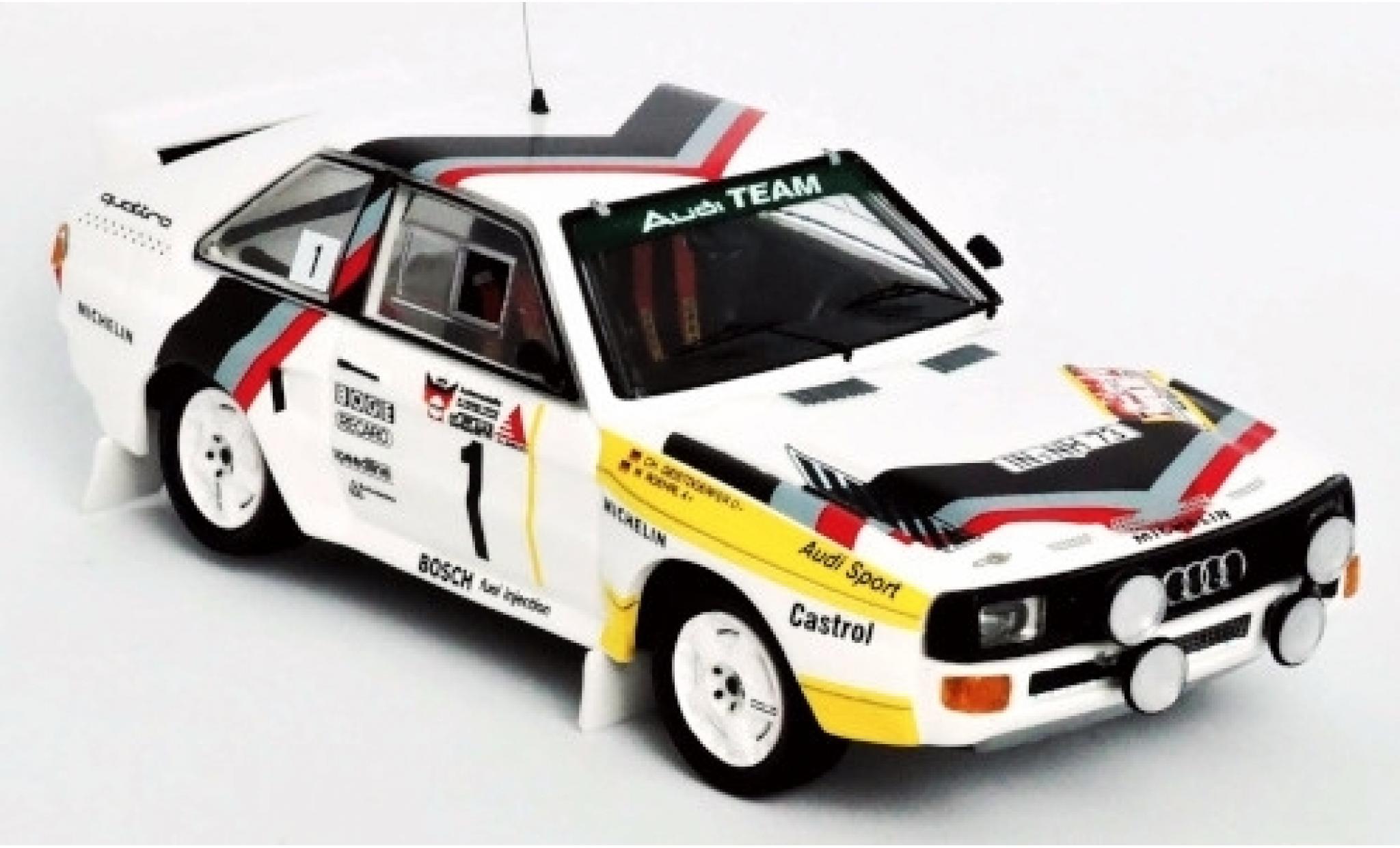 Audi Sport Quattro 1/43 Trofeu Sport quattro No.1 Team Rally DM 3 Städte Rally 1984 Version: Samstag W.Röhrl/C.Geistdörfer