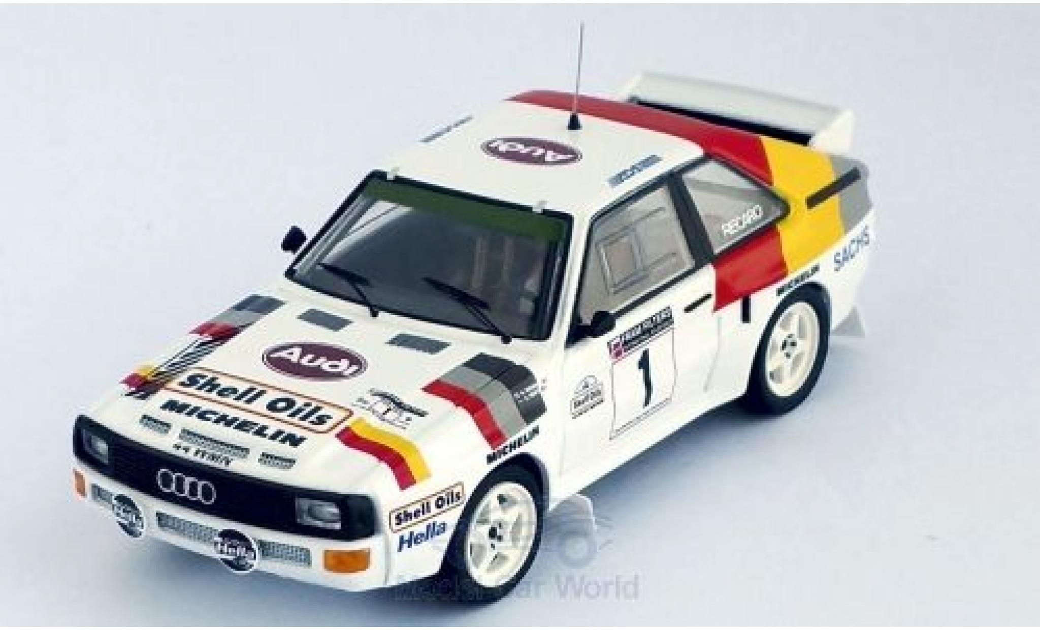 Audi Sport Quattro 1/43 Trofeu Sport quattro No.1 Welsh Rally 1986 H.Mikkola/A.Hertz