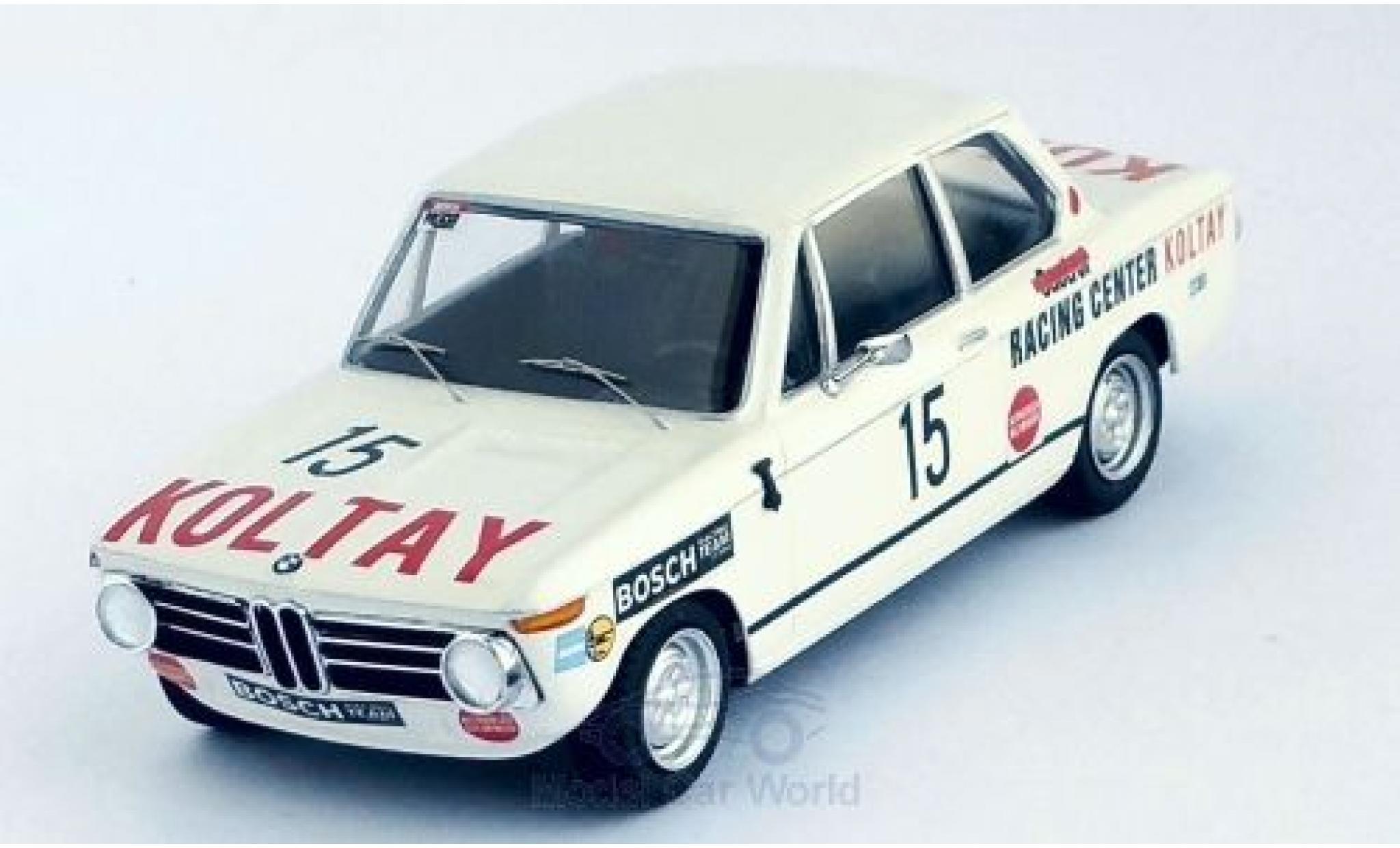 Bmw 2002 Ti 1/43 Trofeu BMW ti No.15 Preis von Wien 1973 N.Lauda