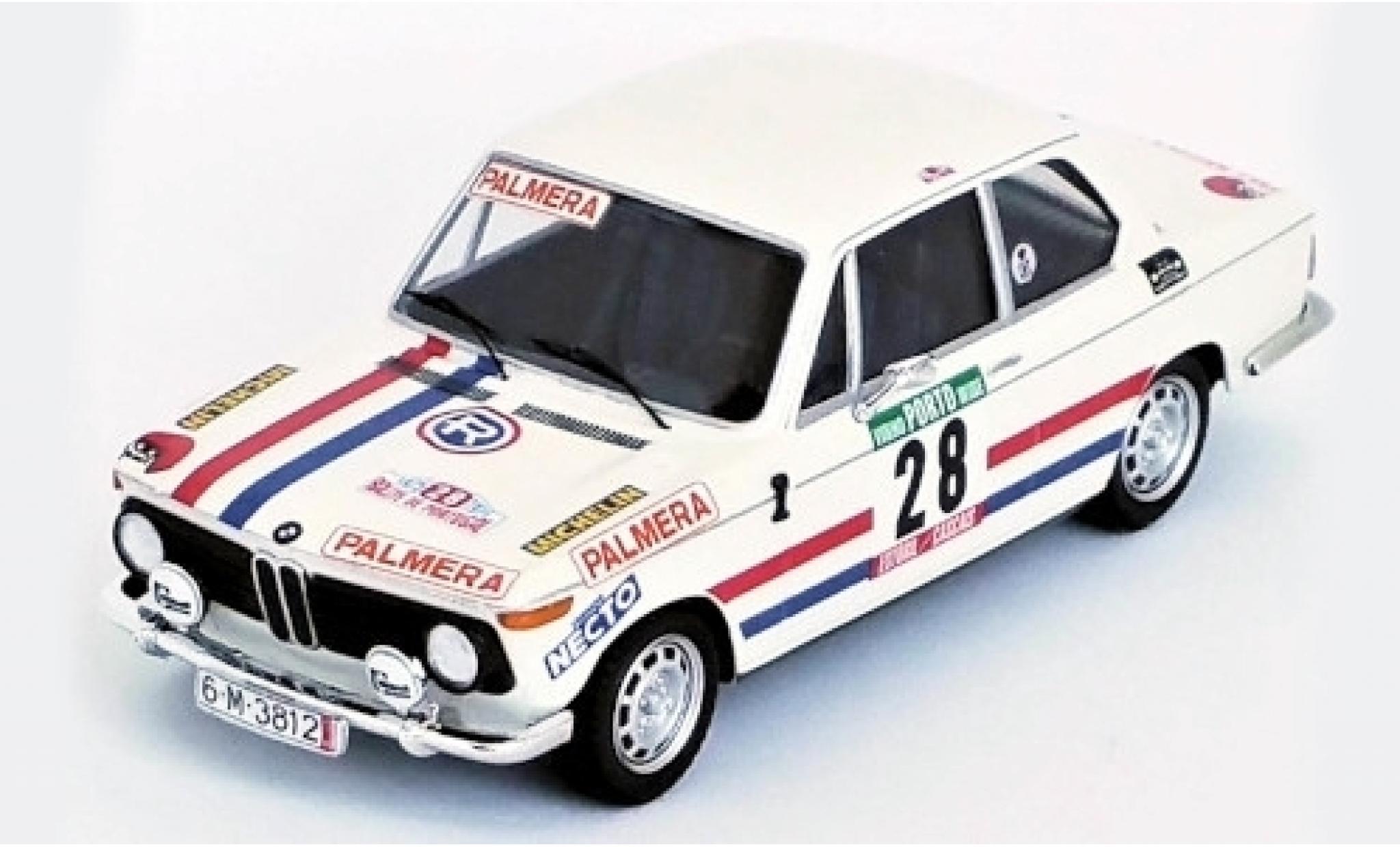 Bmw 2002 1/43 Trofeu Ti No.28 Palmera Rallye WM Rallye Portugal 1975 M.Etchebers/M.-C.Etchebers-Rives