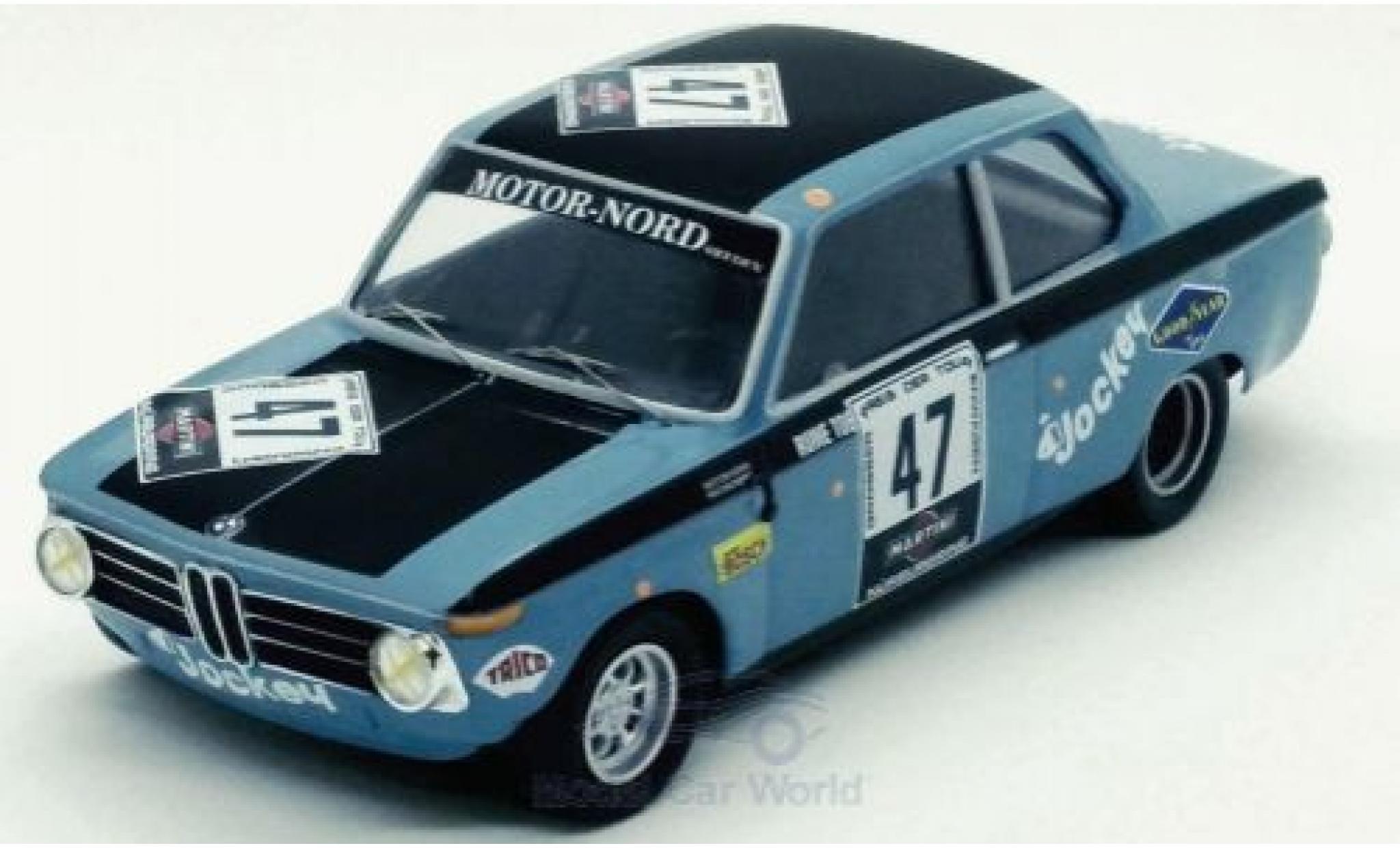 Bmw 2002 1/43 Trofeu ti No.47 Nürburgring 1971 R.Tobiasson/A.Persson