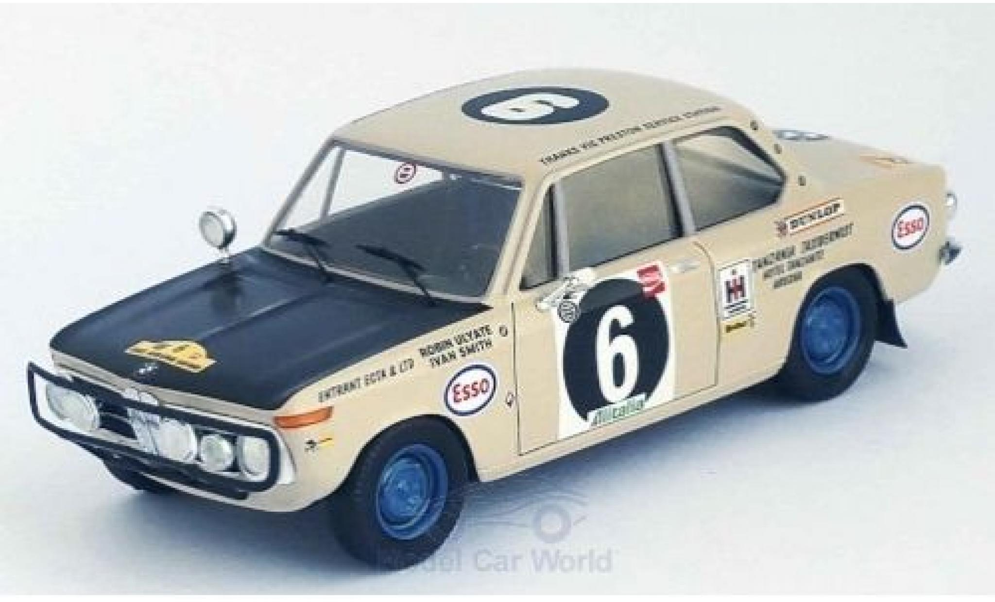 Bmw 2002 1/43 Trofeu ti No.6 East African Safari Rally 1971 R.Ulyate/I.Smith
