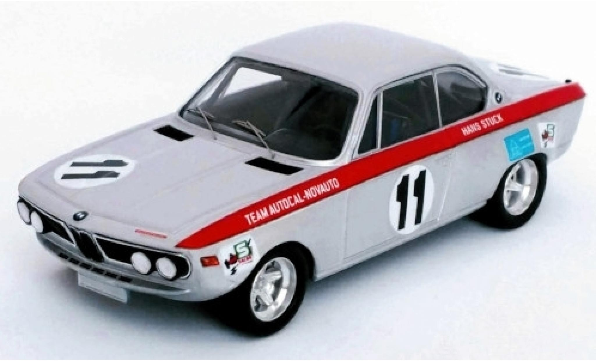 Bmw 2800 1/43 Trofeu CS No.11 Autocal-Novauto 6h Nova Lisboa 1971 M.A.Cabral/H.Stuck