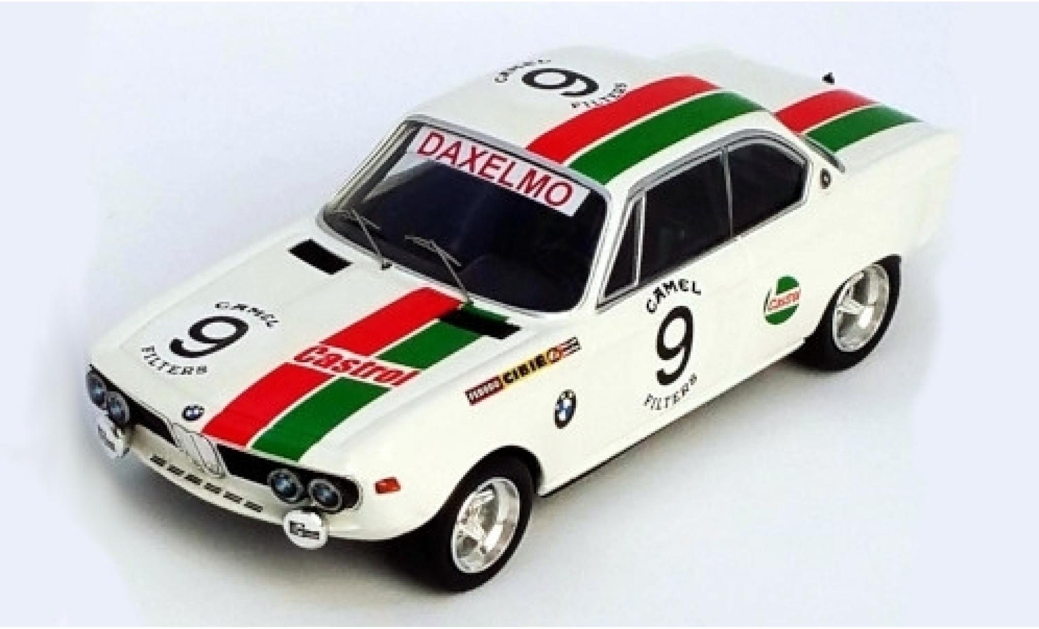 Bmw 2800 1/43 Trofeu CS No.9 Castrol 24h Spa 1971 D.Moorkens/J-L.Haxhe