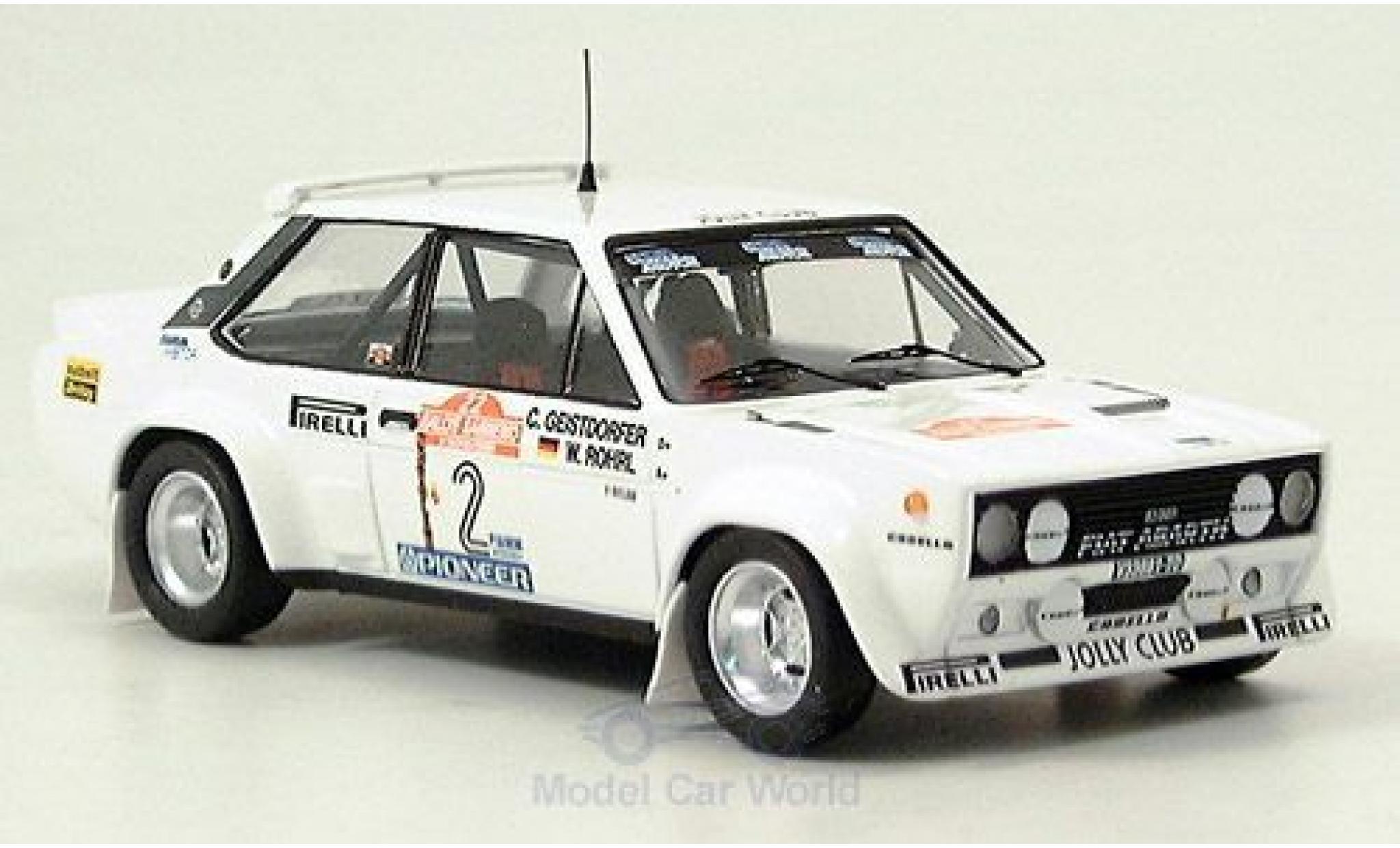 Fiat 131 Abarth 1/43 Trofeu No.2 Rallye Sanremo 1980 D.Fröhlich/C.Geistdörfer