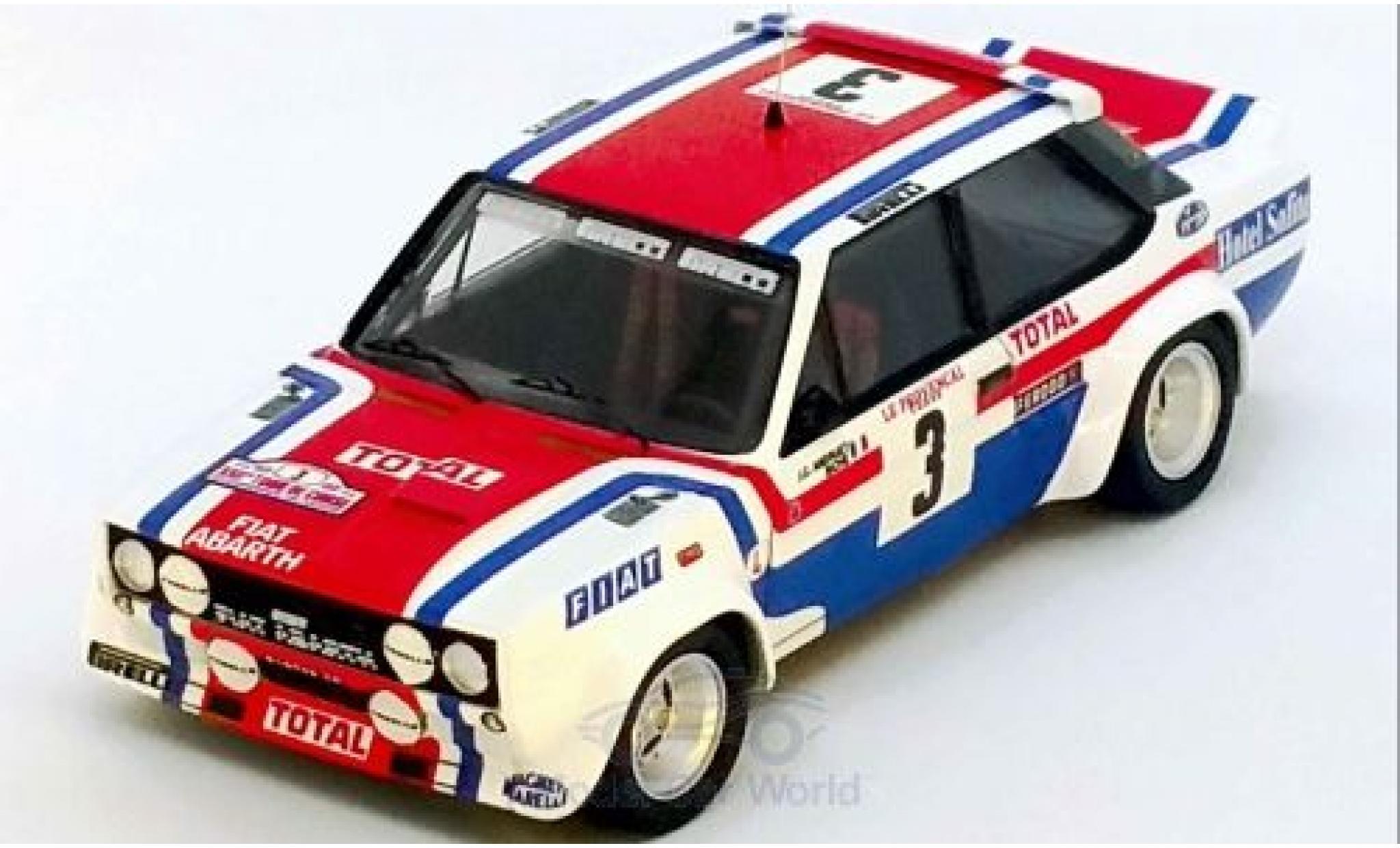 Fiat 131 1/43 Trofeu Abarth No.3 Rallye WM Tour de Corse 1978 J-C.Andruet/Biche