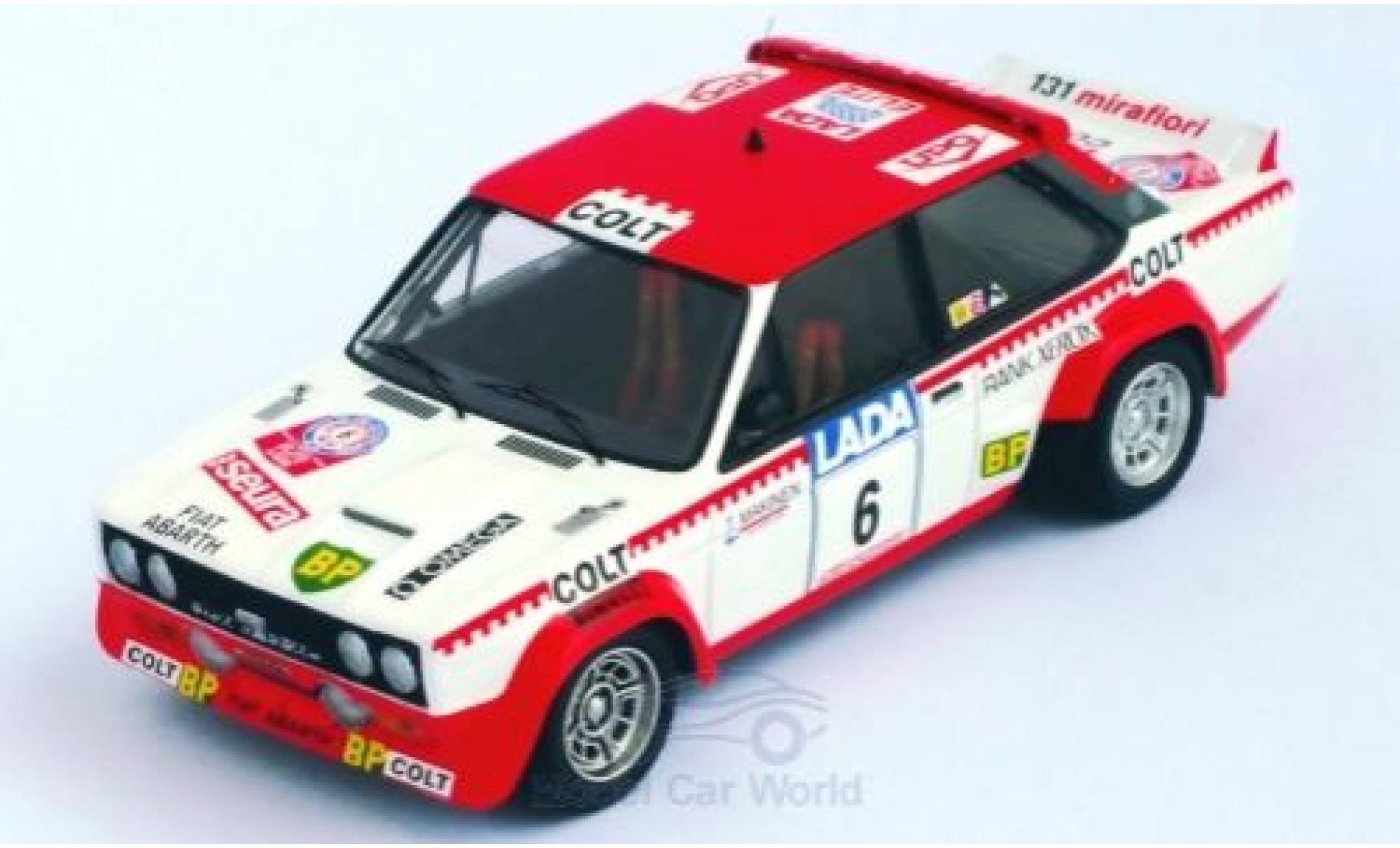 Fiat 131 1/43 Trofeu Abarth No.6 Colt Rallye WM 1000 Lakes Rallye 1977 T.Makinen/H.Liddon
