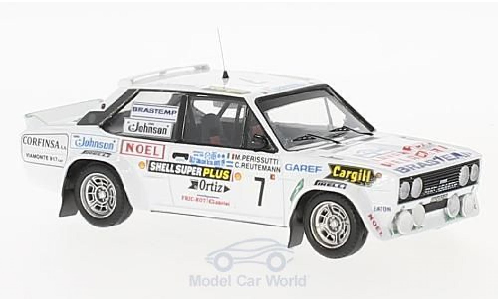 Fiat 131 Abarth 1/43 Trofeu Abarth No.7 Rallye WM Rally Codasur 1980 C.Reutemann/M.Perissutti