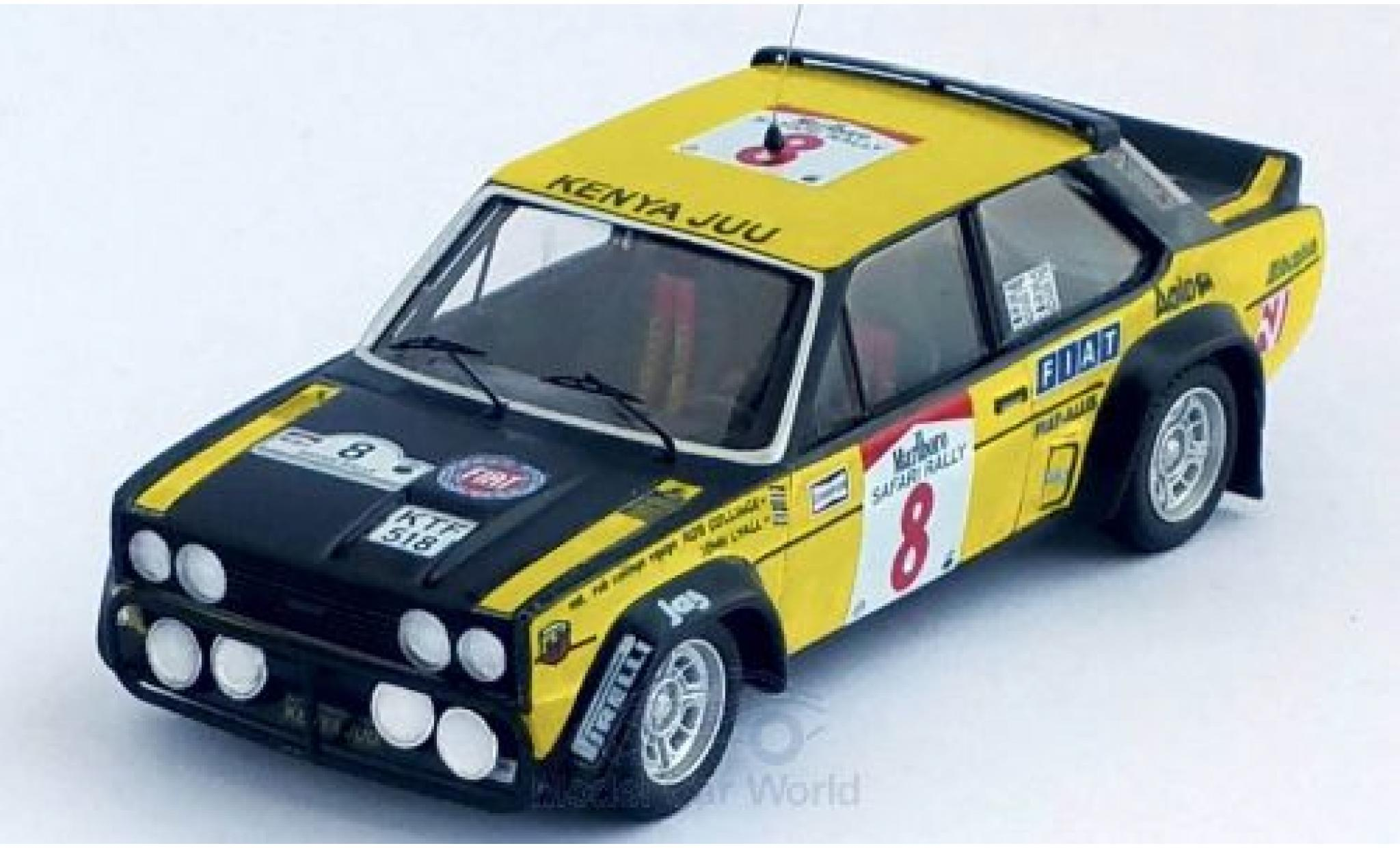 Fiat 131 1/43 Trofeu Abarth No.8 Safari Rallye 1981 R.Colinge/J.Lyall
