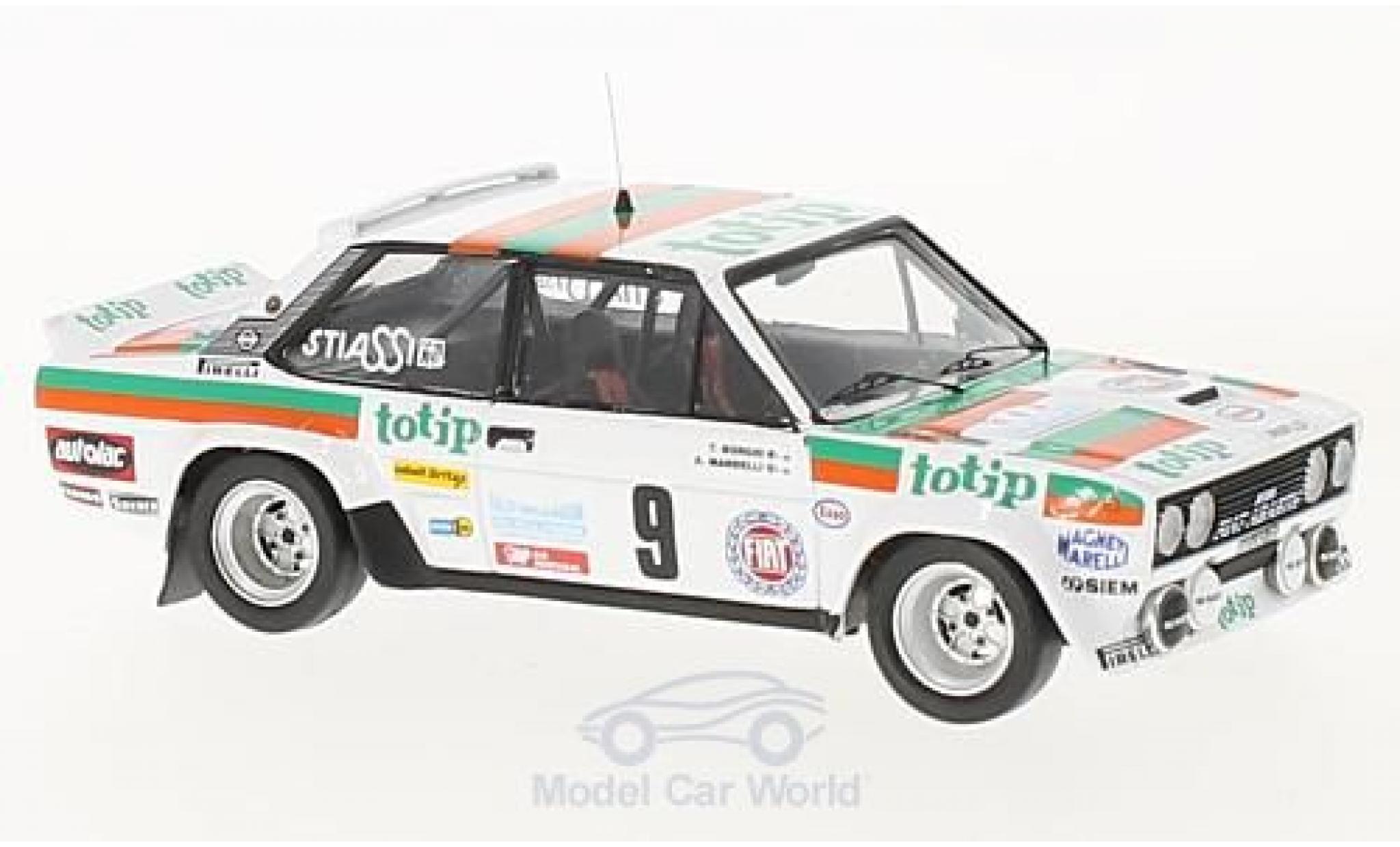 Fiat 131 1/43 Trofeu Abarth No.9 Rallye Madeira 1982 A.Mandelli/T.Borghi