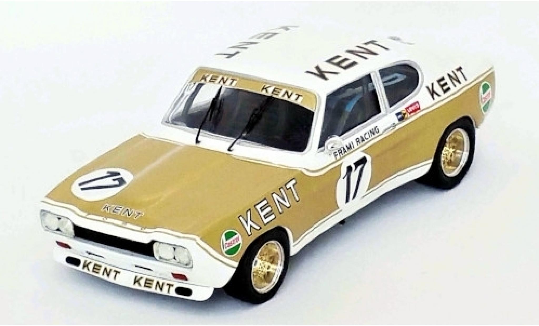 Ford Capri 1/43 Trofeu MK I RS 2600 No.17 Kent ETCC Nürburgring 1972 K.Fritzinger/J-C.Franck