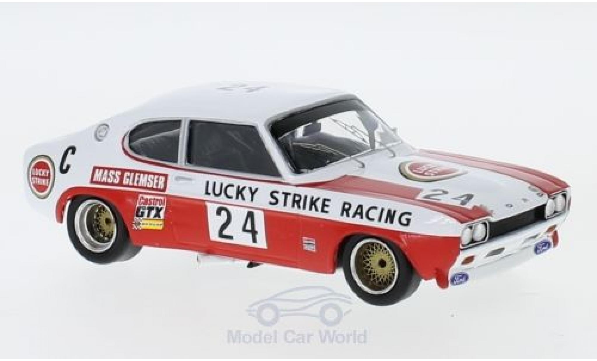 Ford Capri 2600 1/43 Trofeu MK I RS No.24 Lucky Strike Racing Lucky Strike 9h Kyalami 1971 J.Mass/D.Glemser