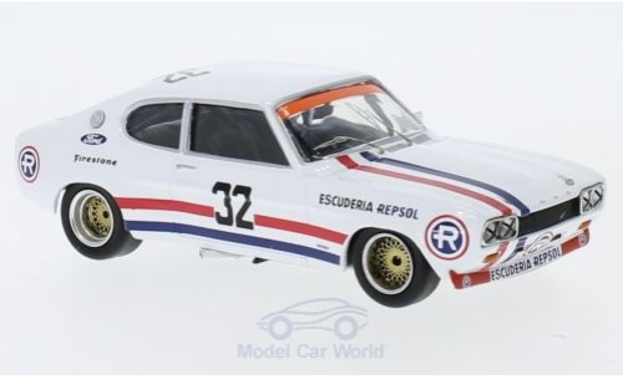 Ford Capri 1/43 Trofeu MK I RS 2600 No.32 Vila Real 1972 R.Gimenez