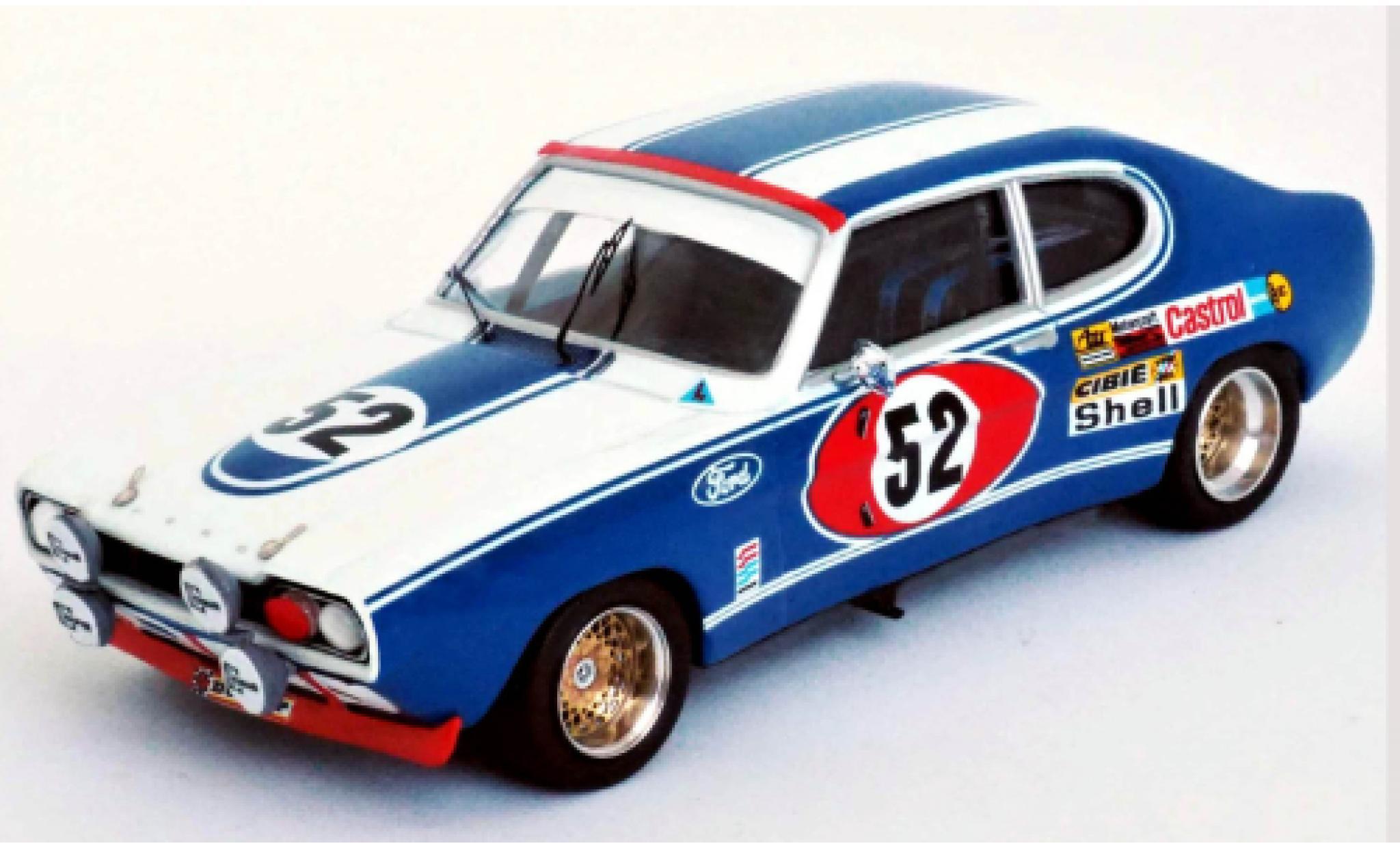 Ford Capri 1/43 Trofeu MkI 2600 RS No.52 Motor Company Deutschland 24h Le Mans 1972 D.Glemser/A.Soler-Roig