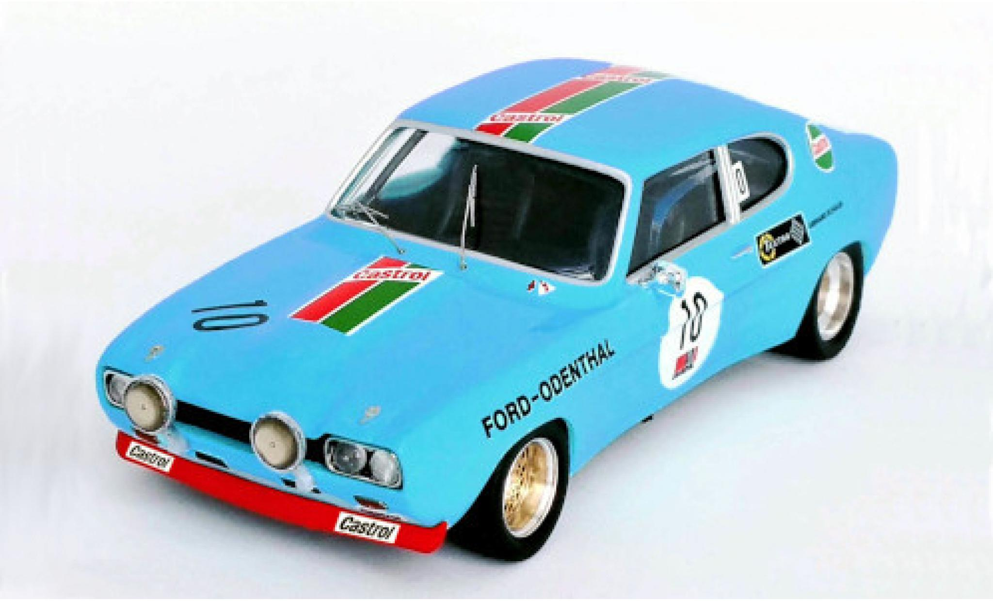 Ford Capri 1/43 Trofeu MkI RS 2600 No.10 -Odenthal 24h Nürburgring 1972 W.Odenthal/G.Schüler