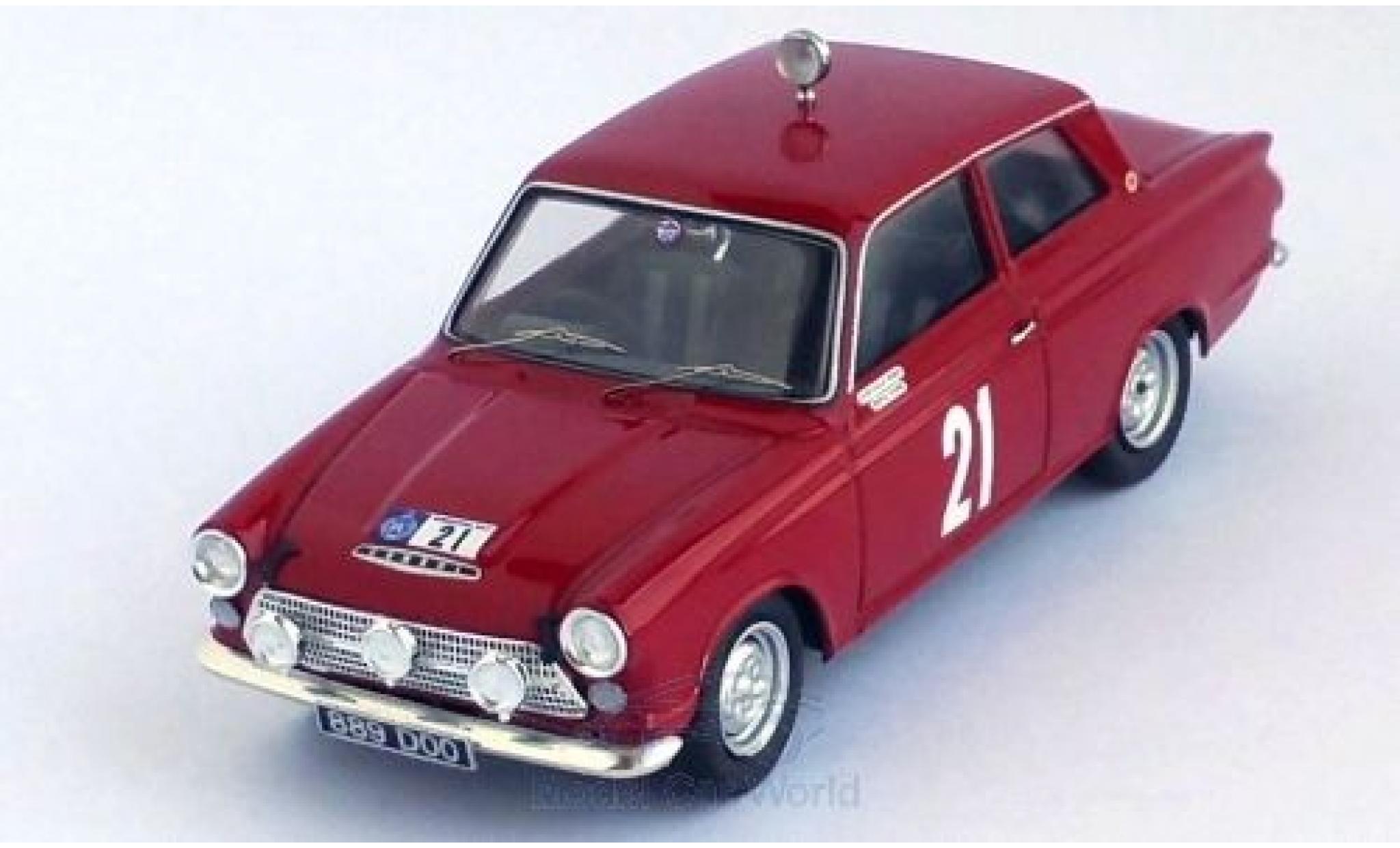 Ford Cortina 1/43 Trofeu MKI GT RHD No.21 RAC Rallye 1964 D.Seigle-Morris/T.Nash