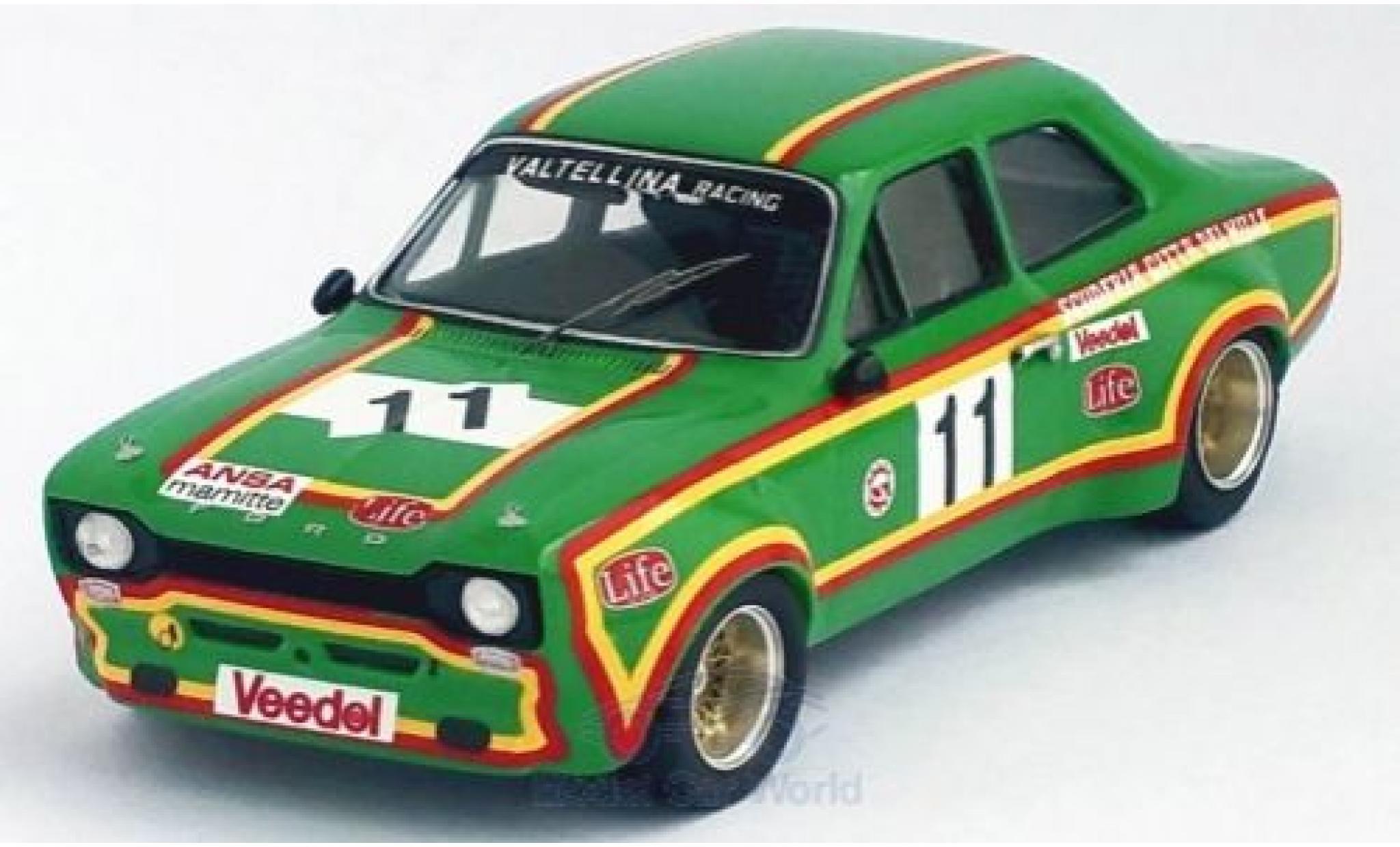 Ford Escort 1/43 Trofeu MK I No.11 Valtellina Racing Monza 1975 A.Merzario