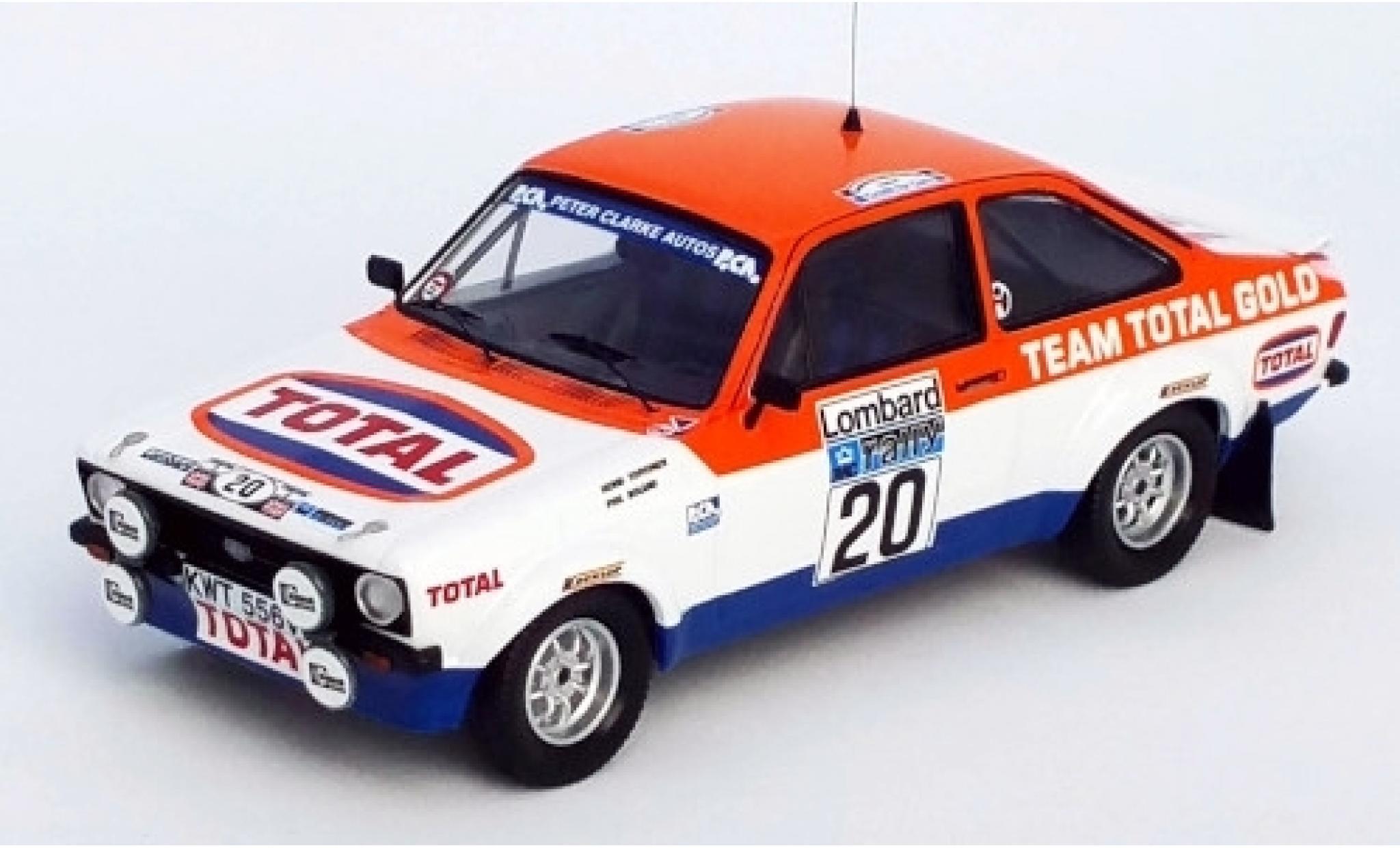 Ford Escort 1/43 Trofeu MK II RS No.20 Team Total Gold Total Rallye WM RAC Rallye 1979 H.Toivonen/P.Boland