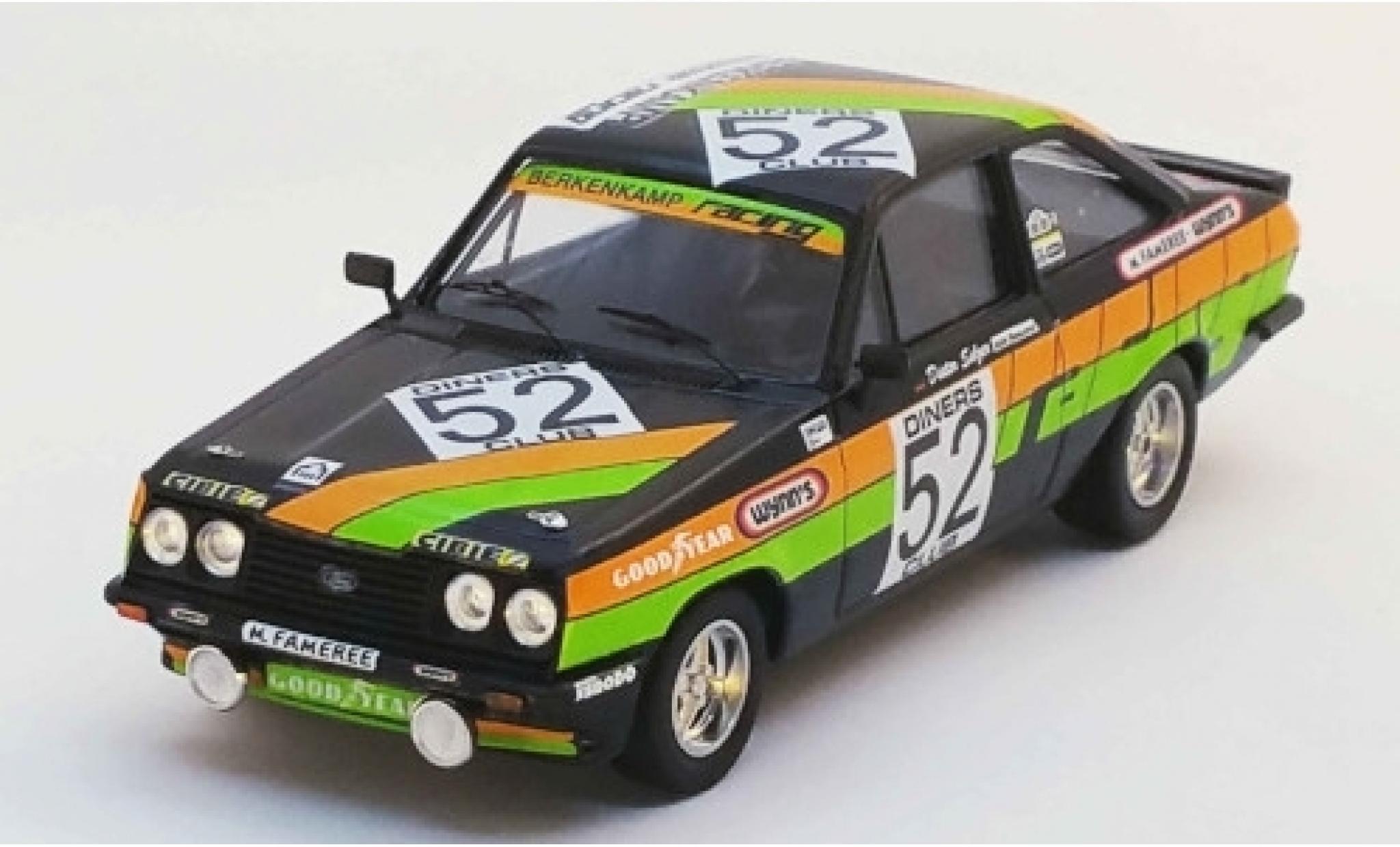 Ford Escort 1/43 Trofeu Mk II RS2000 No.52 Berkenkamp Racing 24h Spa 1979 A.Beauchef/D.Selzer/K.Mauer