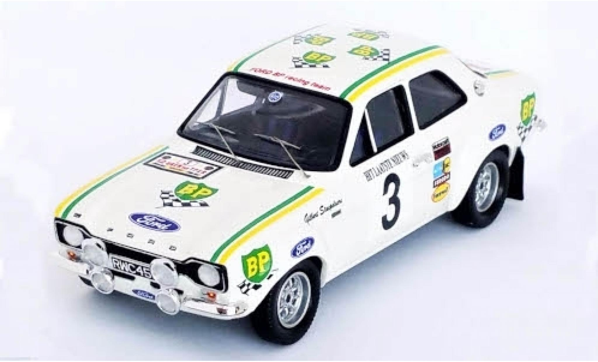Ford Escort 1/43 Trofeu MkI RS2000 No.3 BP Racing Team BP Rally Ypern 1972 G.Staepelaere/A.Aerts