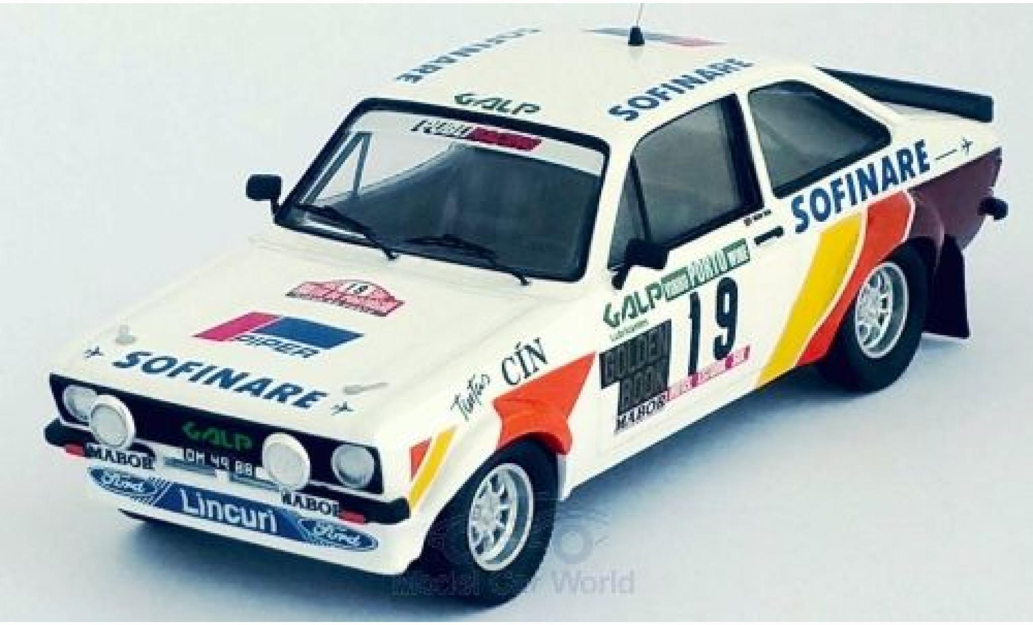 Ford Escort 1/43 Trofeu MKII No.19 Rallye WM Rally Portugal 1982 M.Silva/R.Bevilacqua