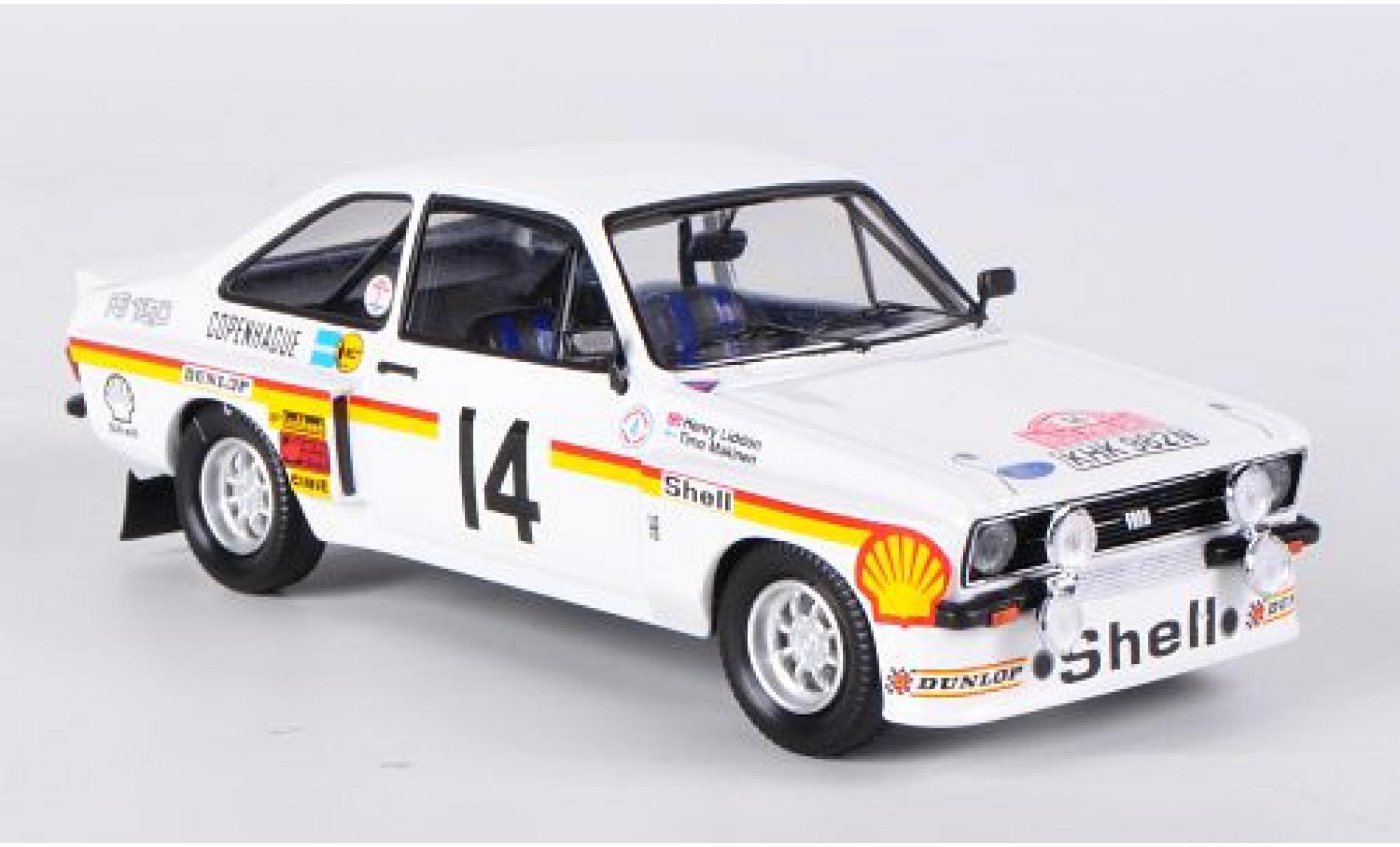 Ford Escort 1/43 Trofeu MKII RS 1800 No.14 S Rally Monte Carlo 1976 T.Makinen/H.Liddon