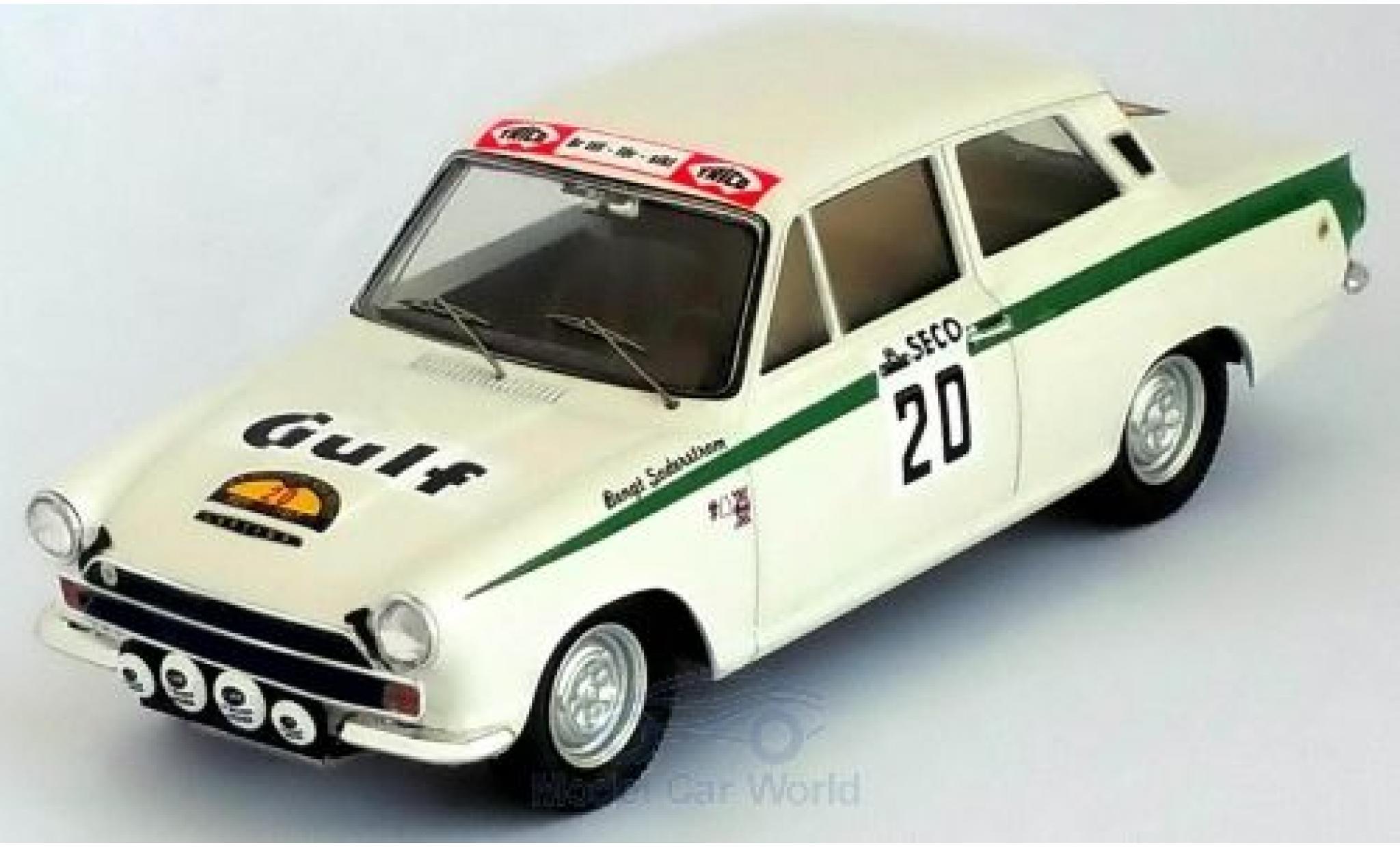 Ford Lotus 1/43 Trofeu Cortina No.20 Rallye Schweden 1967 B.Söderström/G.Palm