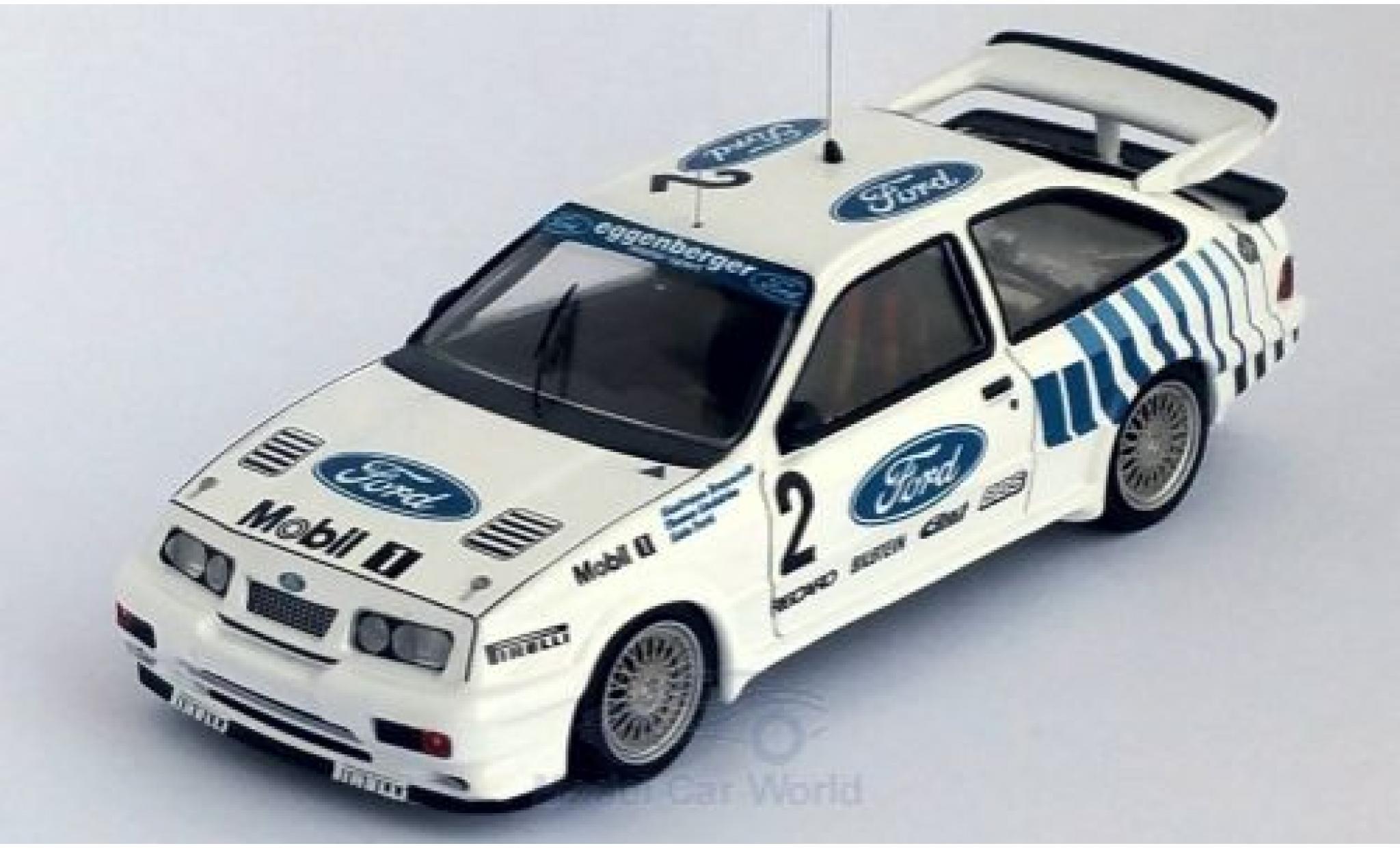 Ford Sierra 1/43 Trofeu RS 500 Cosworth No.2 Eggenberger Mobil 1 24h Nürburgring 1989 G.Brancatelli/T.Lindström/A.Ferte
