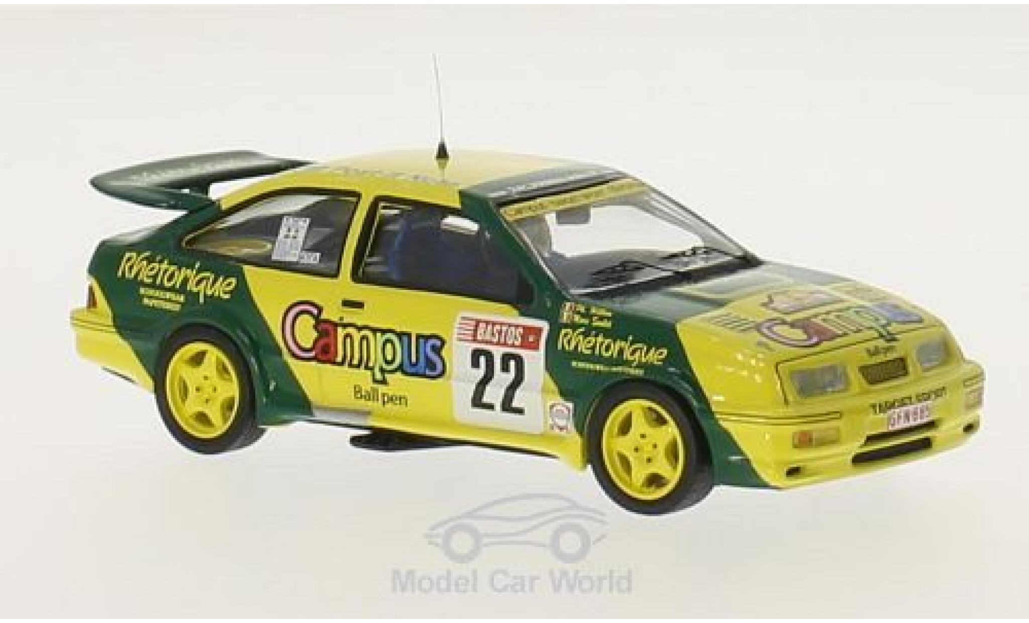 Ford Sierra 1/43 Trofeu RS Cosworth No.22 Target Sport Campus 24h Ypres 1988 M.Soulet/P.Willem