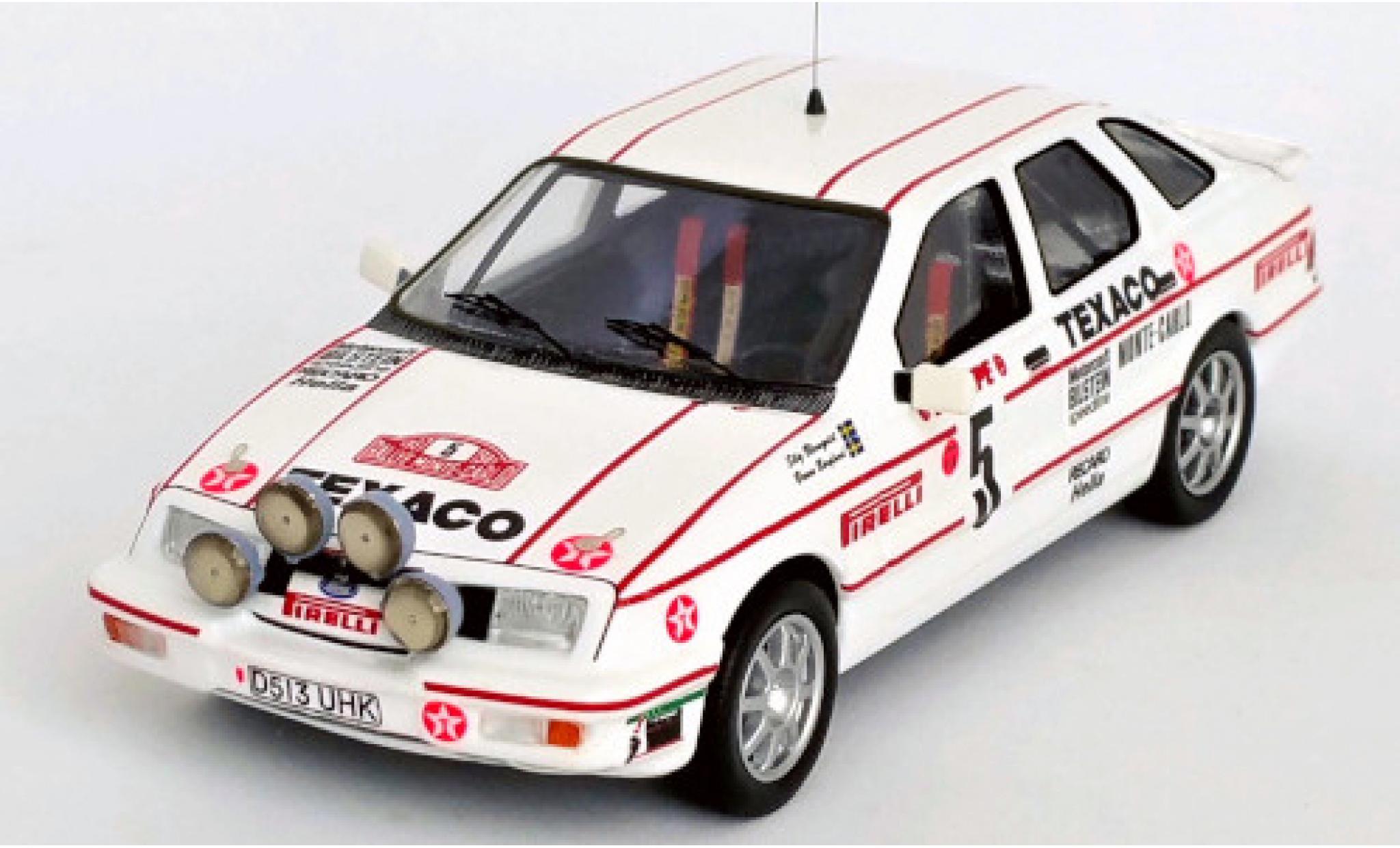 Ford Sierra 1/43 Trofeu XR 4x4 No.5 Texaco Rallye WM Rallye Monte Carlo 1987 S.Blomqvist/B.Berglund
