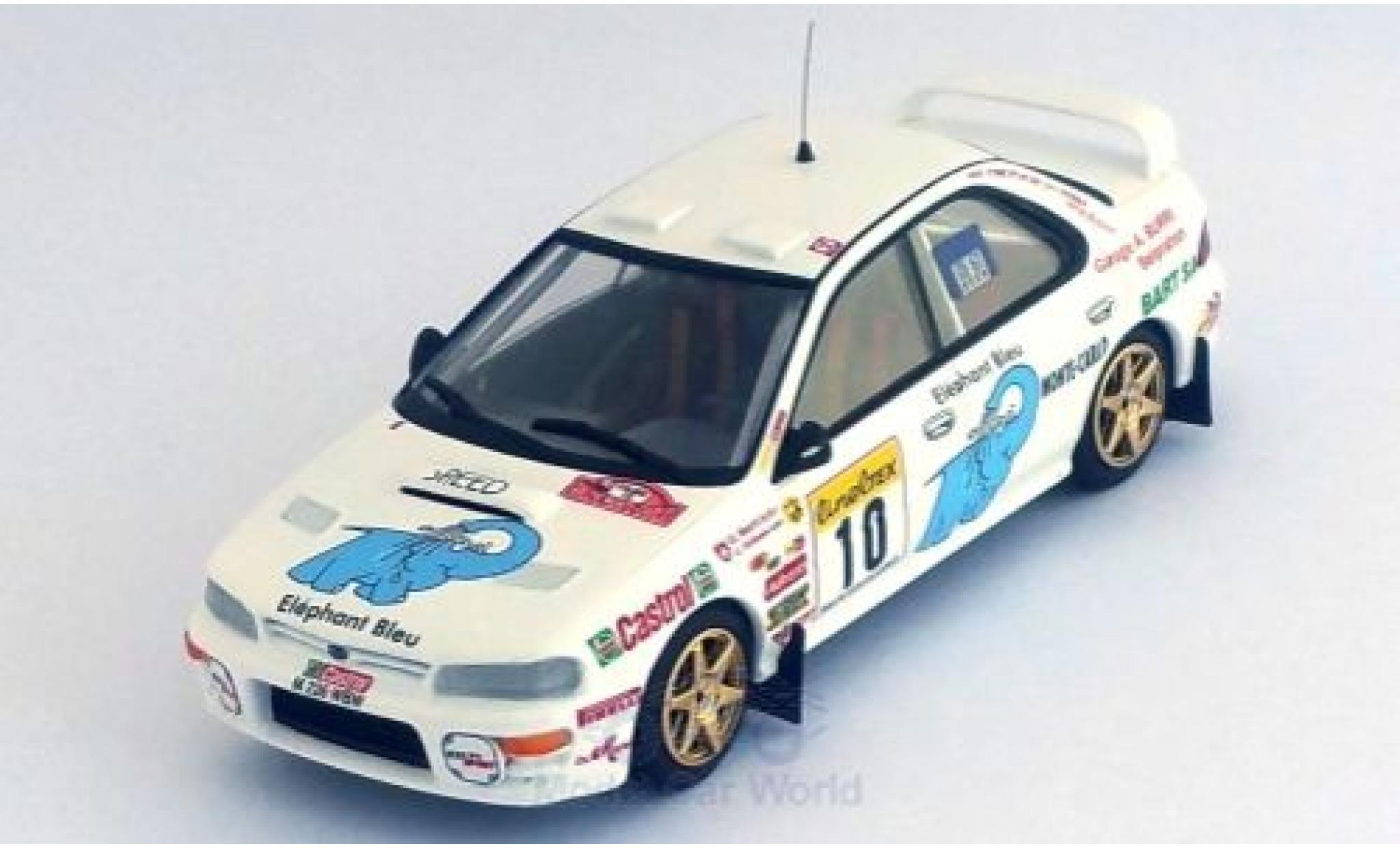 Subaru Impreza 1/43 Trofeu No.10 Rallye WM Rallye Monte Carlo 1997 O.Burri/C.Hofmann