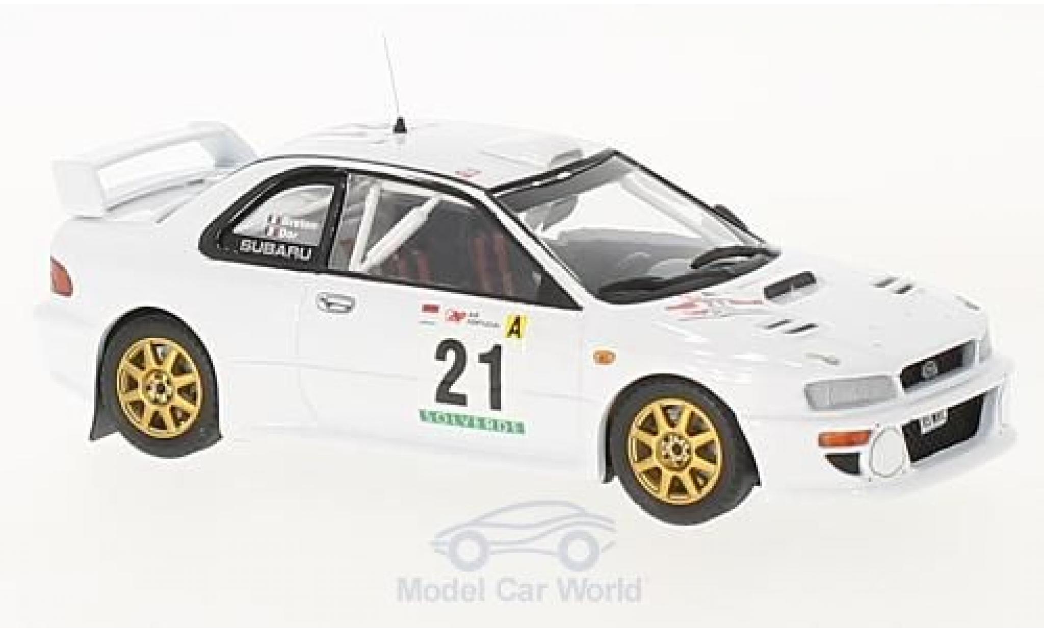 Subaru Impreza WRC 1/43 Trofeu WRC No.21 Rallye WM Rallye Portugal 1999 F. Dor/D. Breton