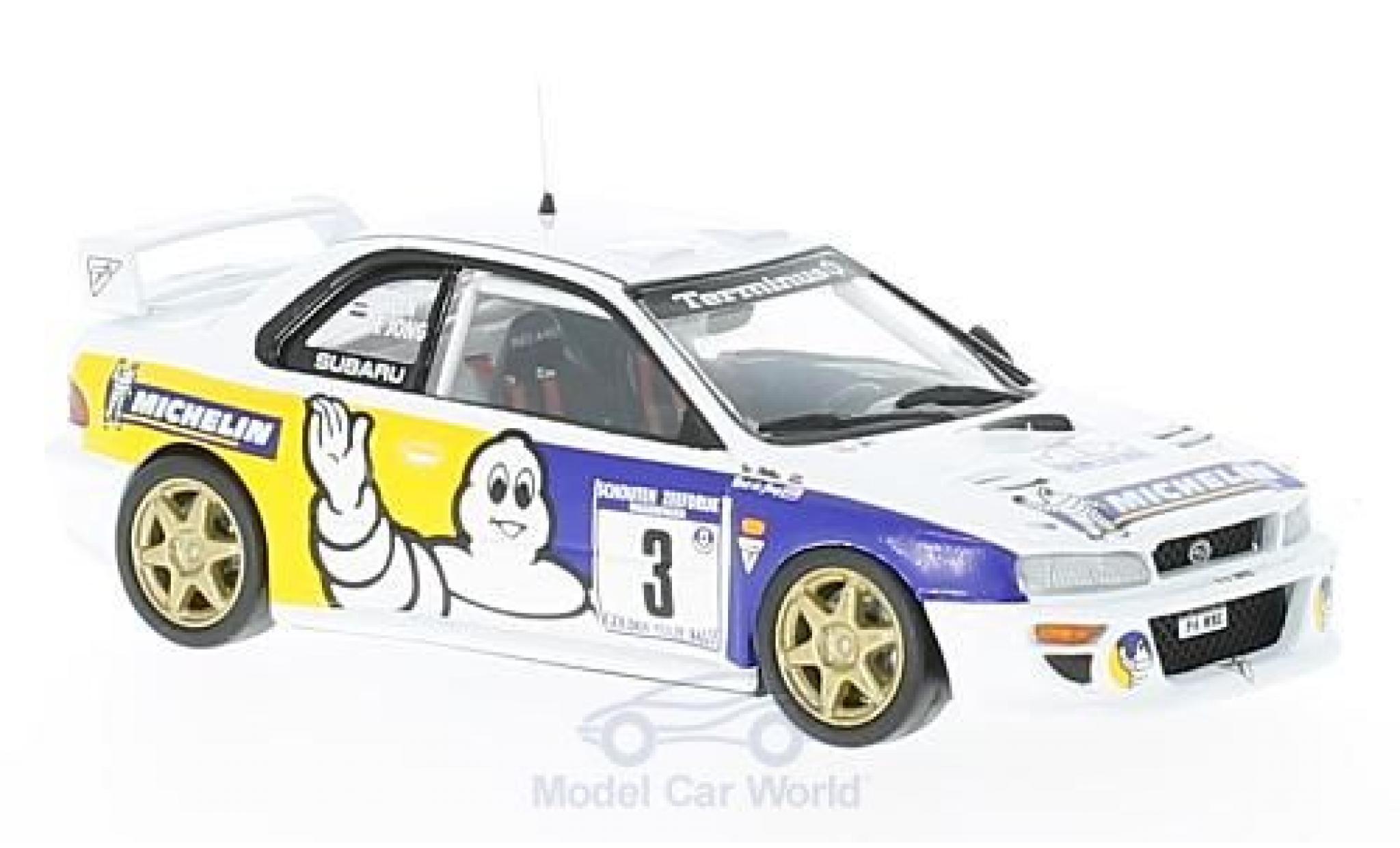 Subaru Impreza WRC 1/43 Trofeu No.3 Michelin Tulpenrallye 1998 B. D Jong/T. Hillen