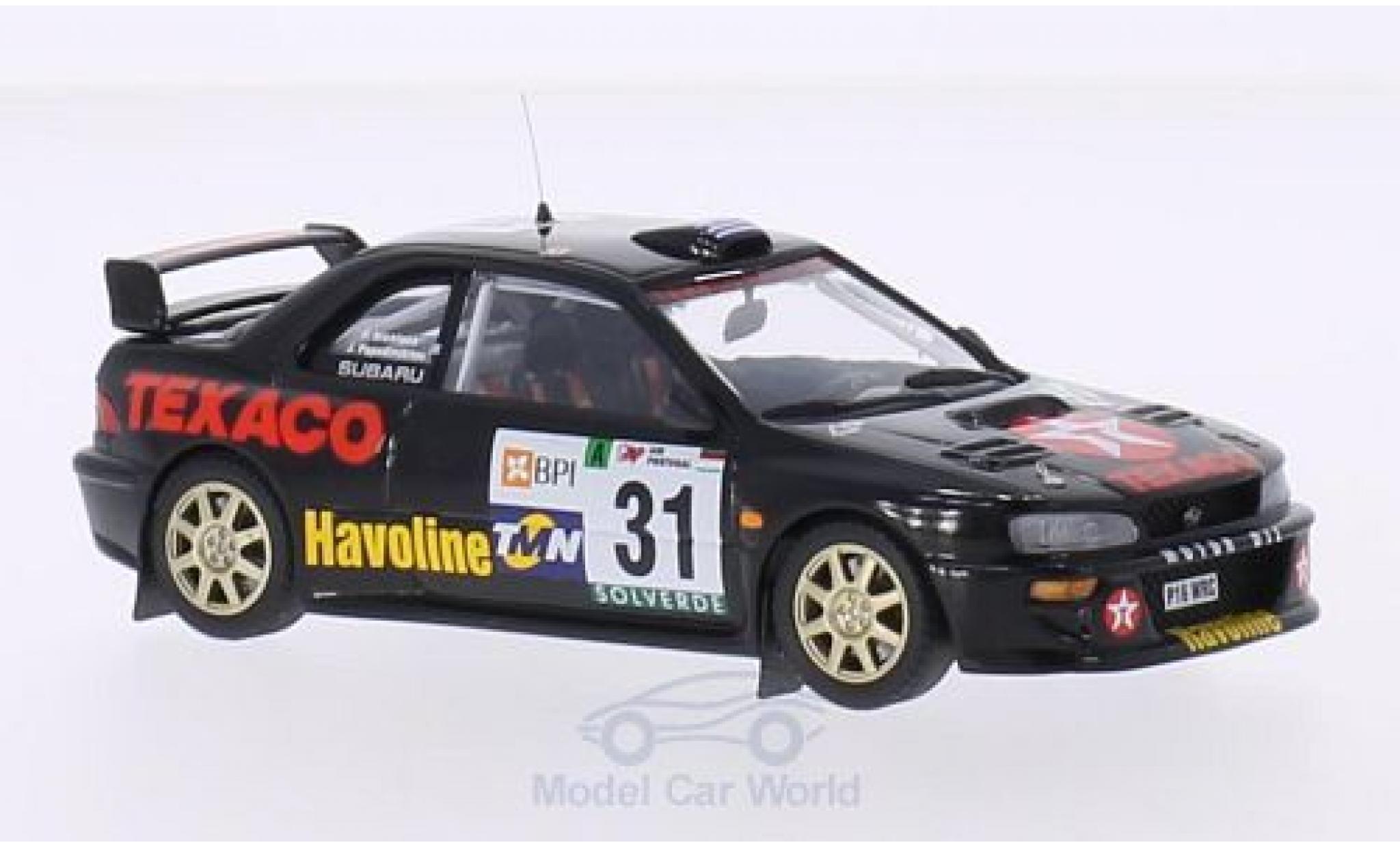 Subaru Impreza WRC 1/43 Trofeu No.31 Texaco Rallye WM Rallye Portugal 2000 I.Papadimitriou/N.Petropoulos