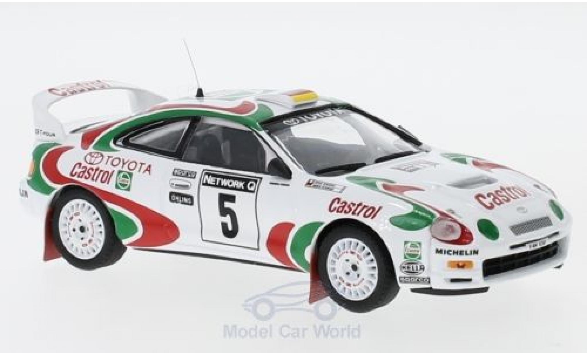 Toyota Celica GT Four 1/43 Trofeu GT Four No.5 Castrol Rallye WM RAC Rallye 1996 A.Schwarz/D.Giraudet