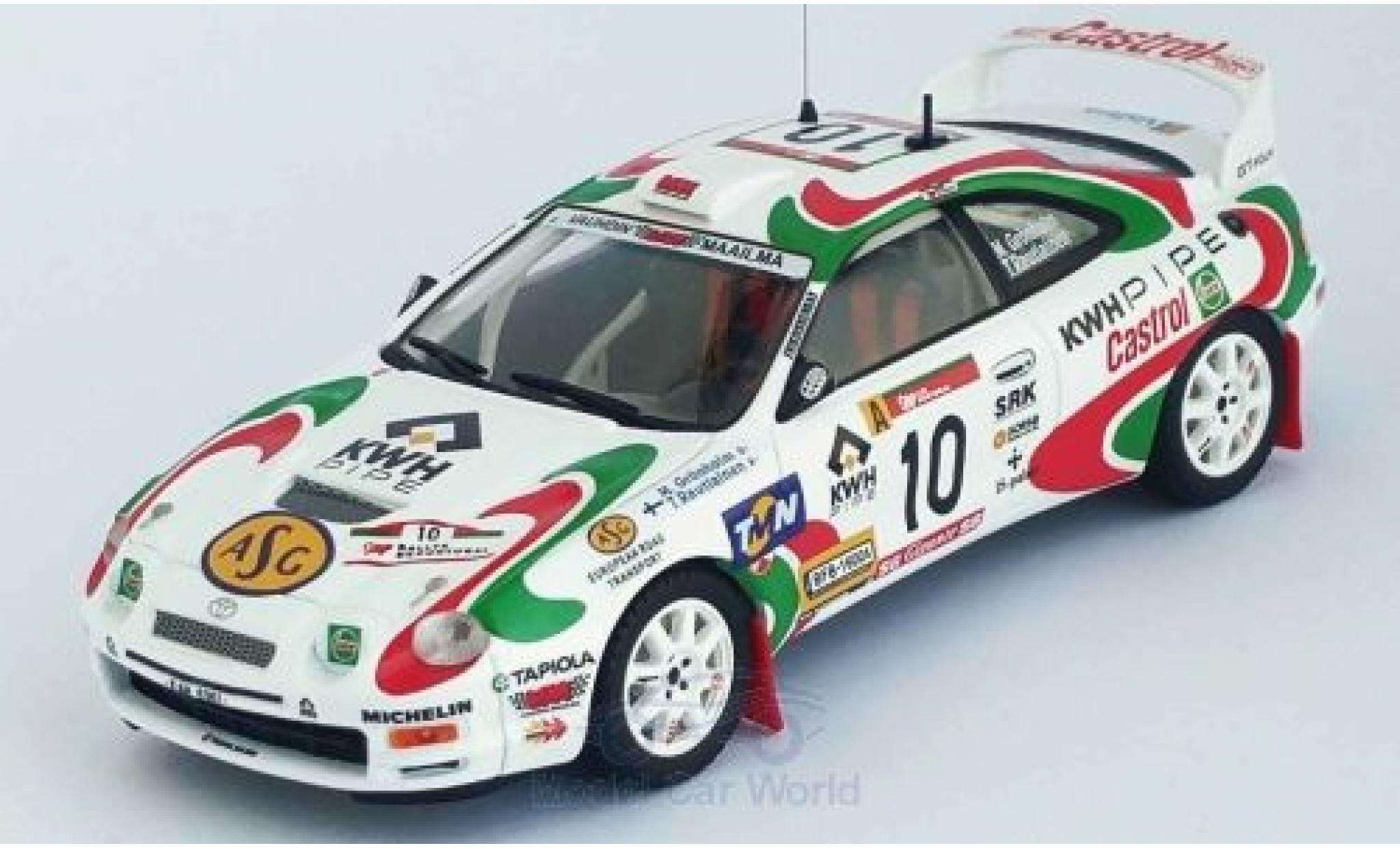 Toyota Celica 1/43 Trofeu (ST205) GT Four No.10 Rallye WM Rally Portugal 1997 M.Grönholm/T.Rautiainen