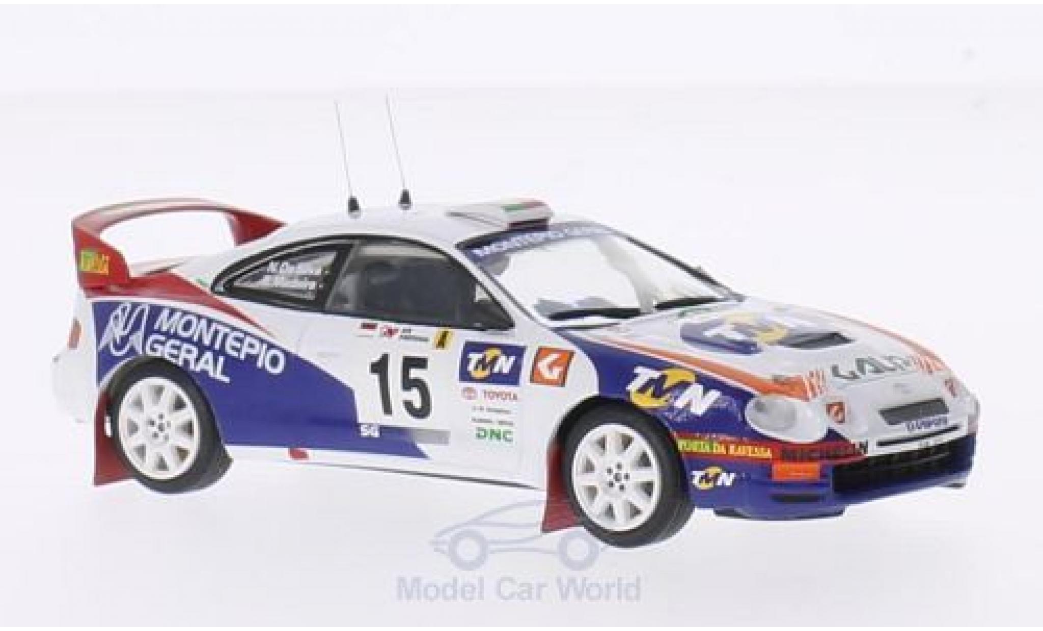 Toyota Celica 1/43 Trofeu ST205 No.15 Rallye Portugal 1998 R.Madeira/N.R.Silva