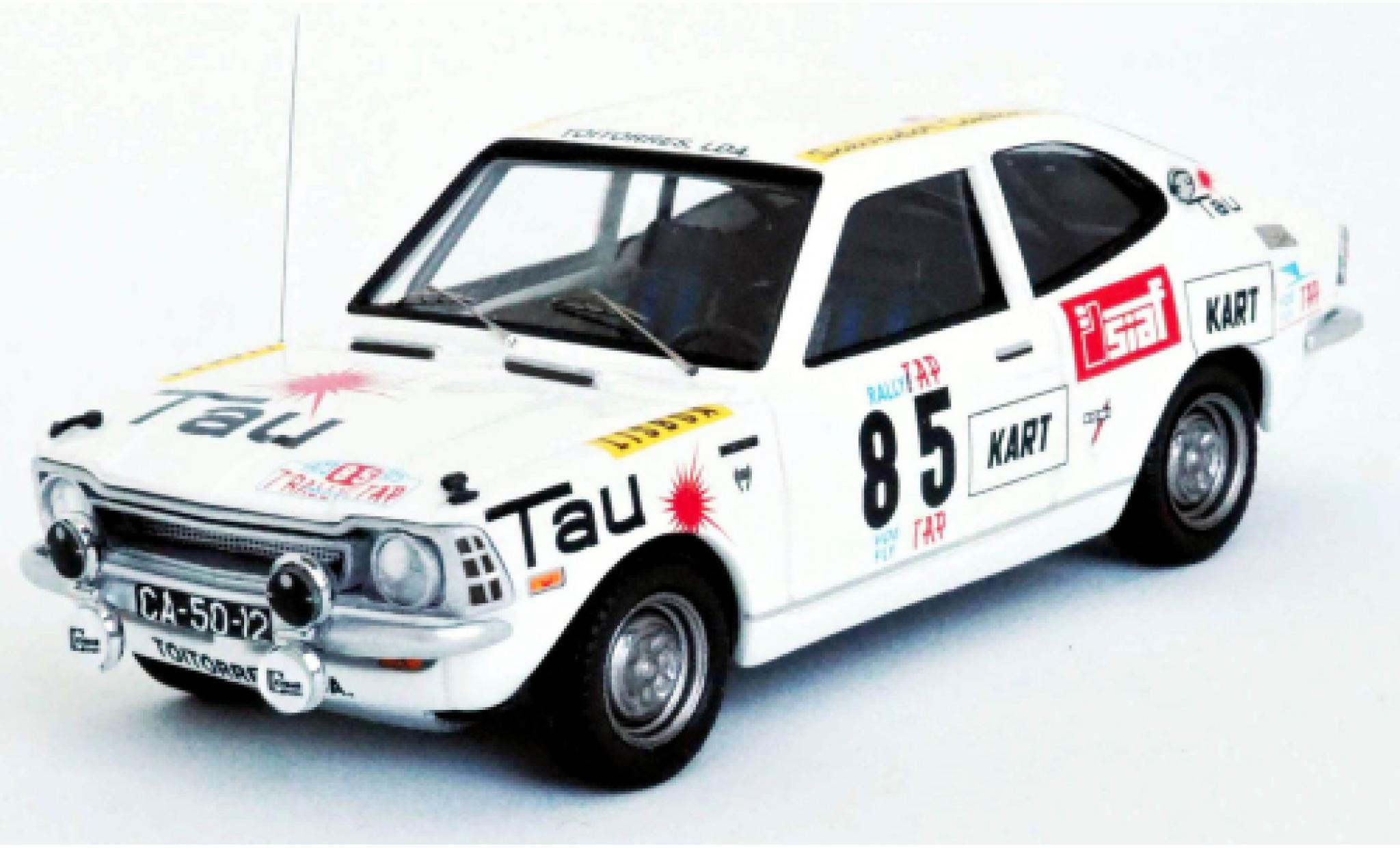 Toyota Corolla 1/43 Trofeu 1200 No.85 Rallye WM Rally Portugal 1973 P.Cortez/T.Gomes