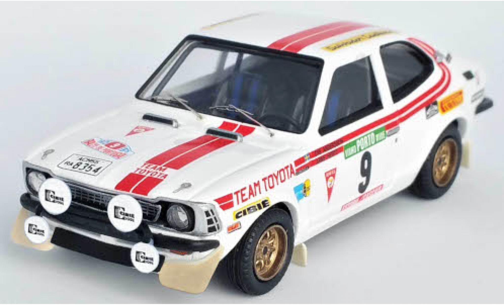 Toyota Corolla 1/43 Trofeu Levin No.9 Team Rallye WM Rallye Portugal 1975 O.Andersson/A.Hertz