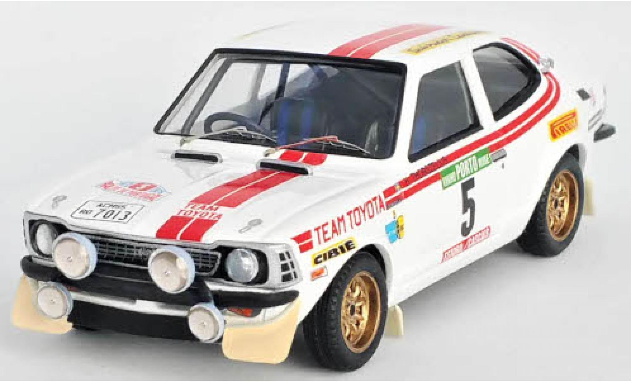Toyota Corolla 1/43 Trofeu Levin RHD No.5 Team Rallye WM Rallye Portugal 1975 B.Waldegard/H.Thorszelius