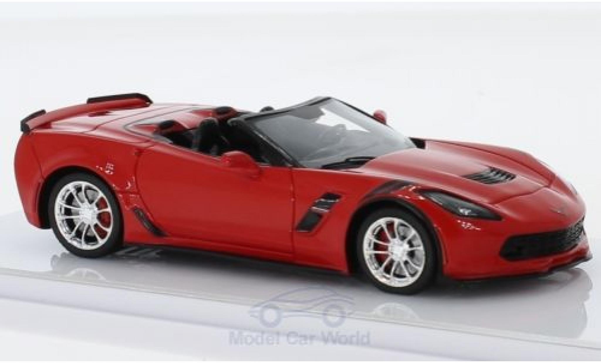Chevrolet Corvette 1/43 TrueScale Miniatures (C7) Grand Sport Convertible red 2017