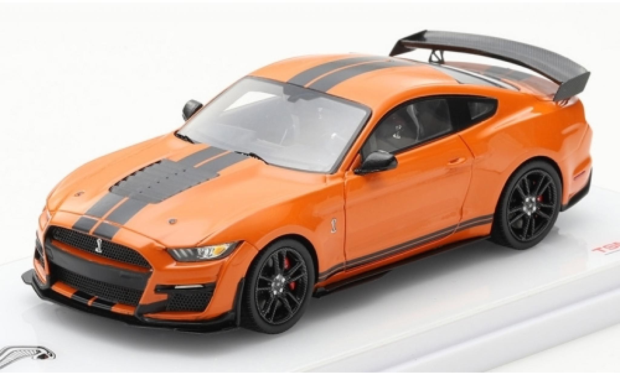 Ford Mustang 1/43 TrueScale Miniatures Shelby GT 500 orange/black 2020
